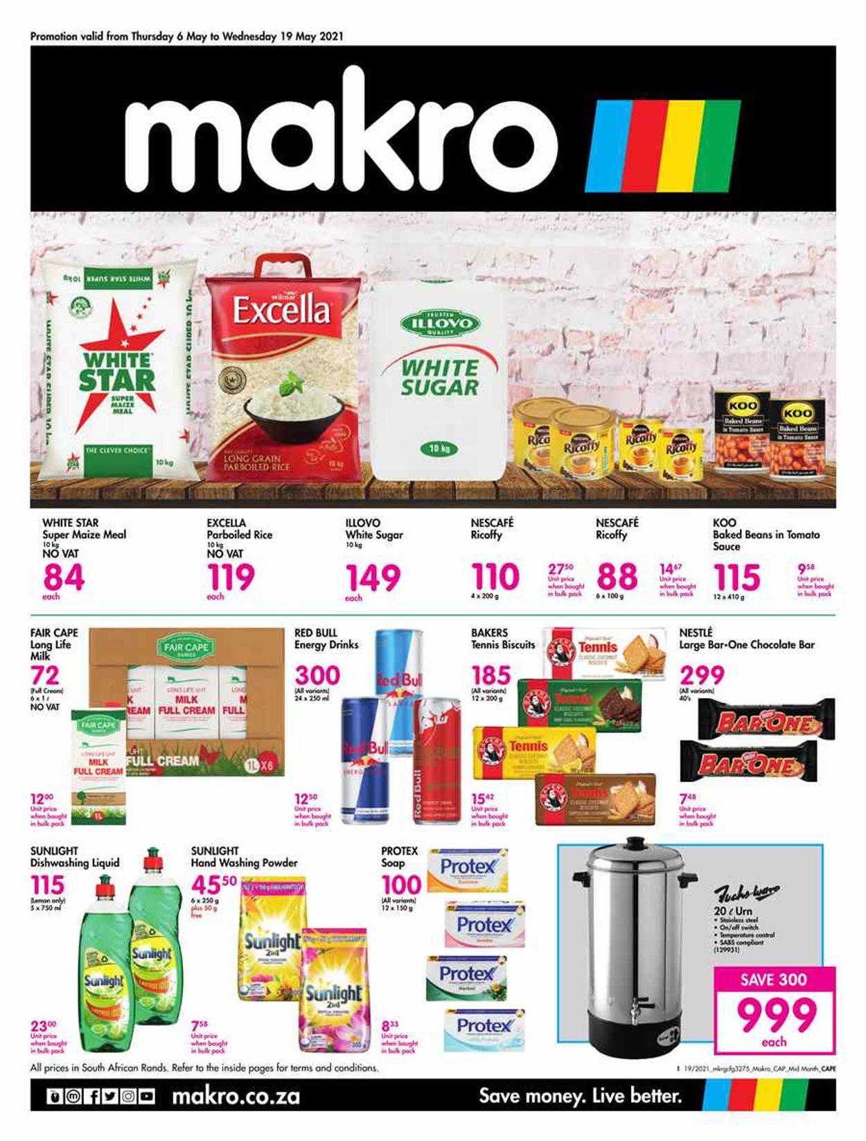 Makro Catalogue - 2021/03/12-2021/05/10
