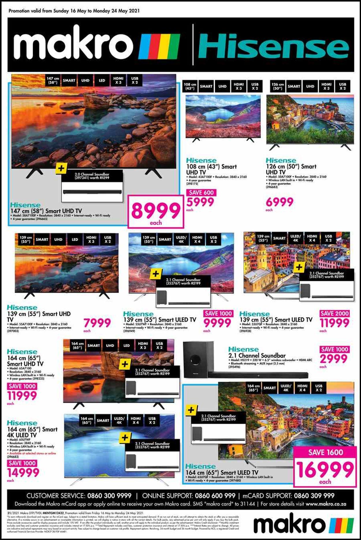 Makro Catalogue - 2021/05/16-2021/05/24