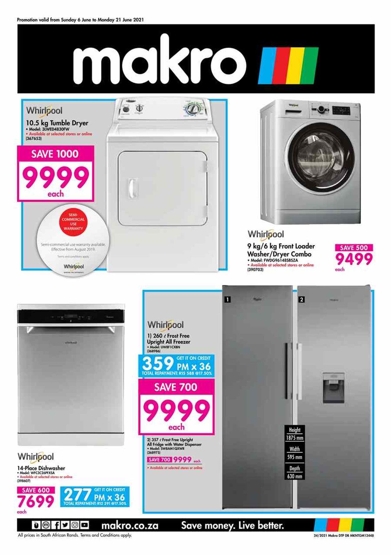 Makro Catalogue - 2021/05/20-2021/06/09