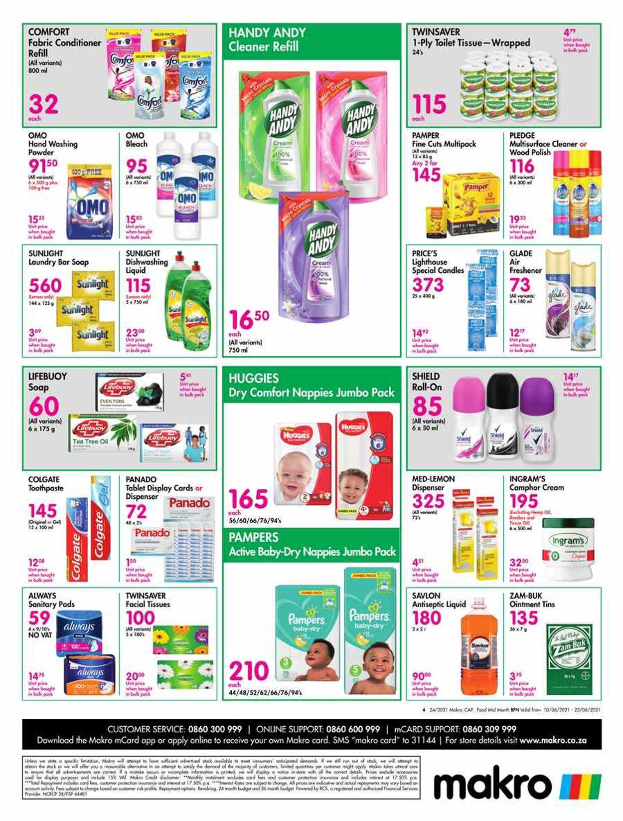 Makro Catalogue - 2021/04/01-2021/06/30 (Page 4)