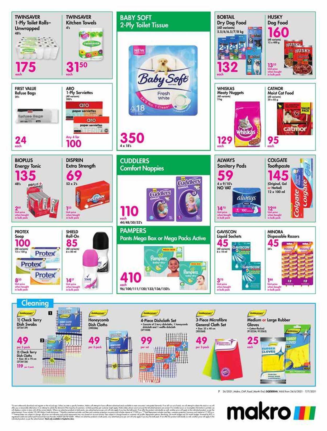 Makro Catalogue - 2021/06/24-2021/07/07 (Page 7)
