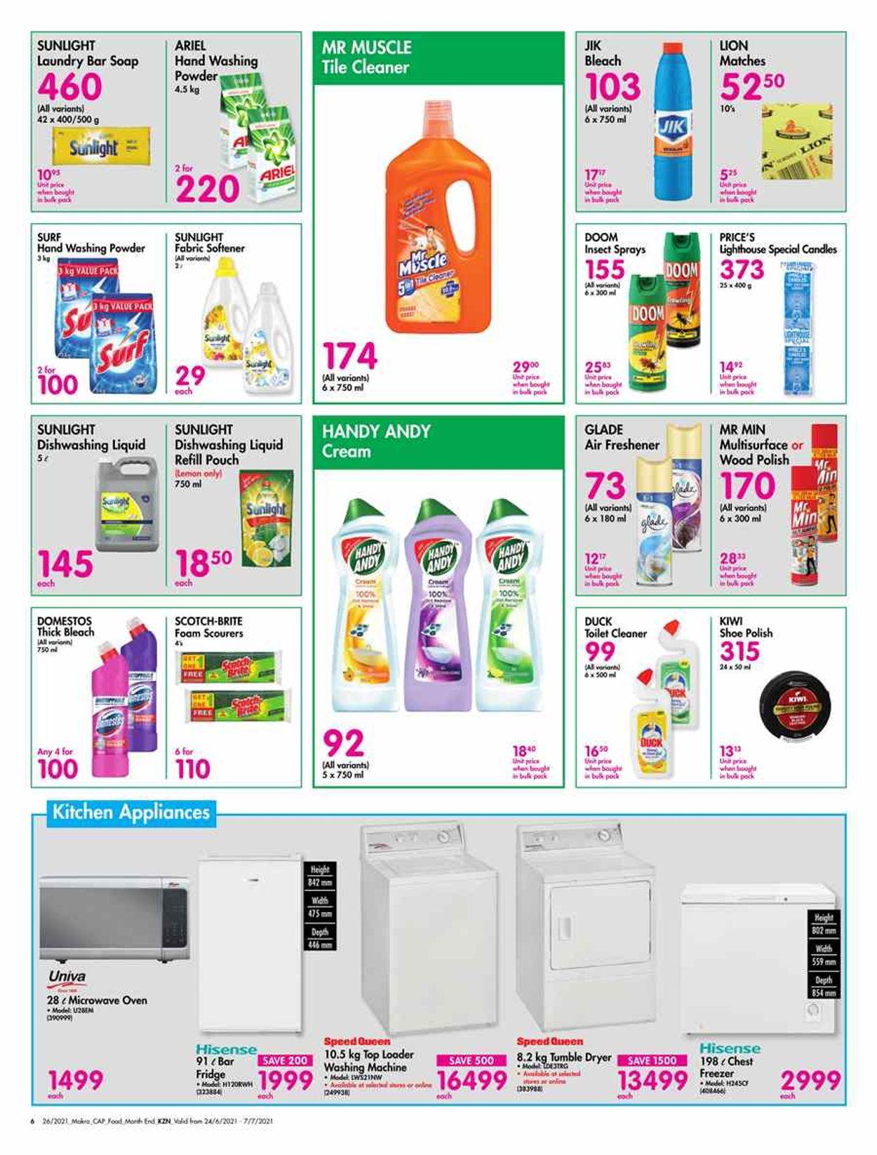Makro Catalogue - 2021/06/24-2021/07/07 (Page 6)