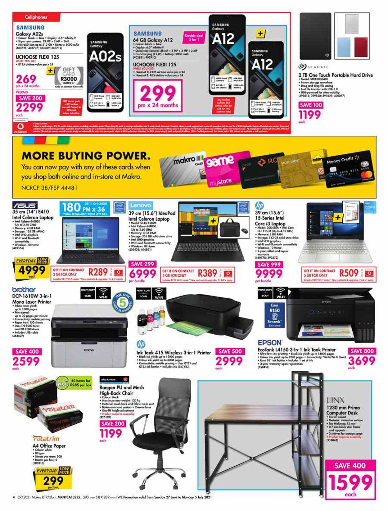 Makro Catalogue - 2021/06/27-2021/07/05 (Page 4)