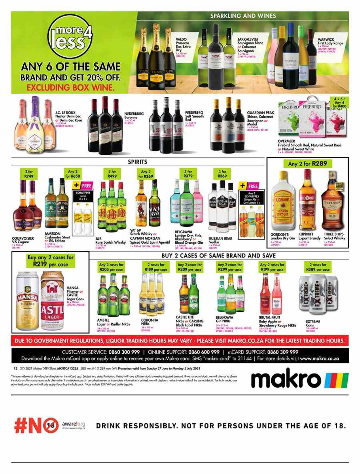 Makro Catalogue - 2021/06/27-2021/07/05 (Page 12)