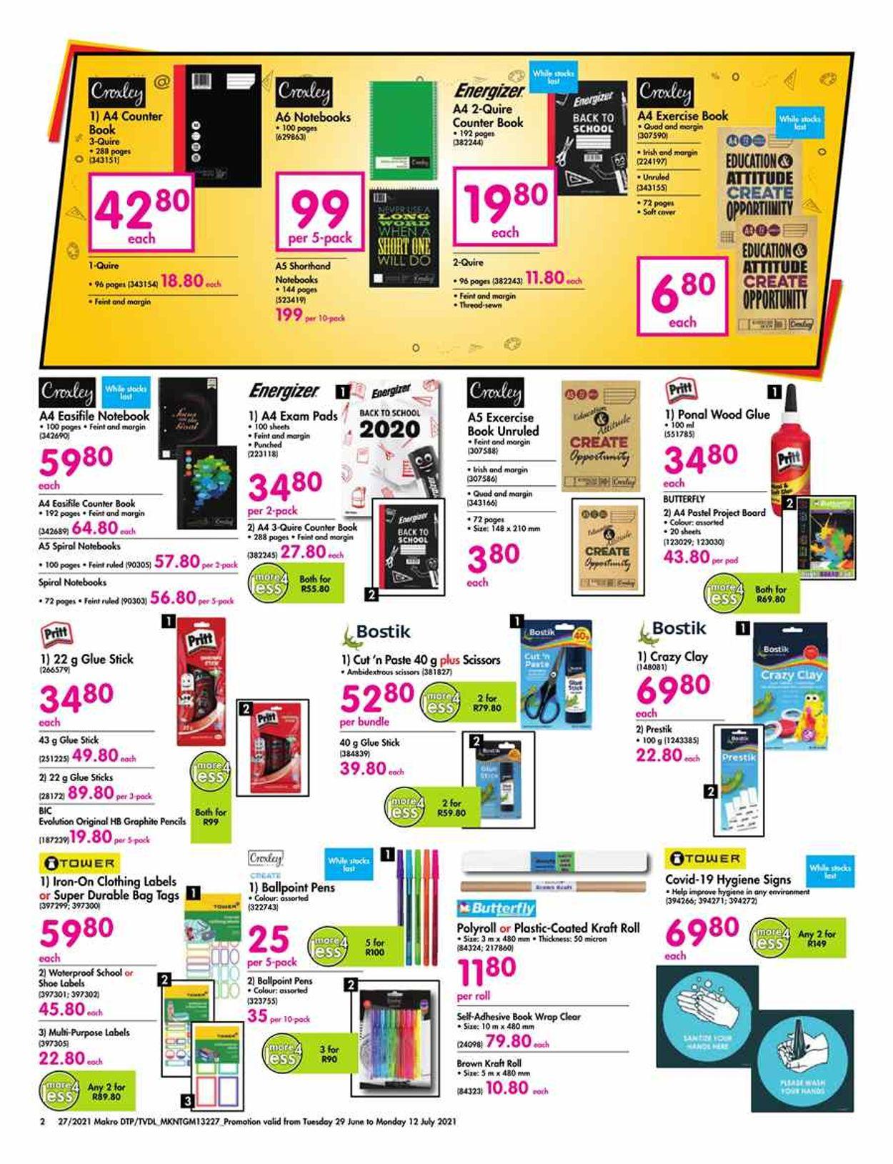 Makro Catalogue - 2021/06/29-2021/07/12 (Page 2)
