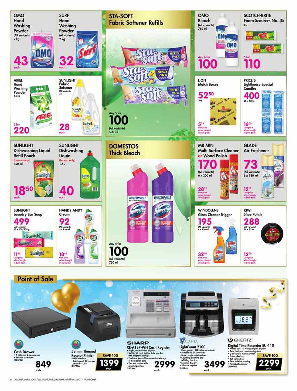 Makro Catalogue - 2021/07/22-2021/08/11 (Page 6)