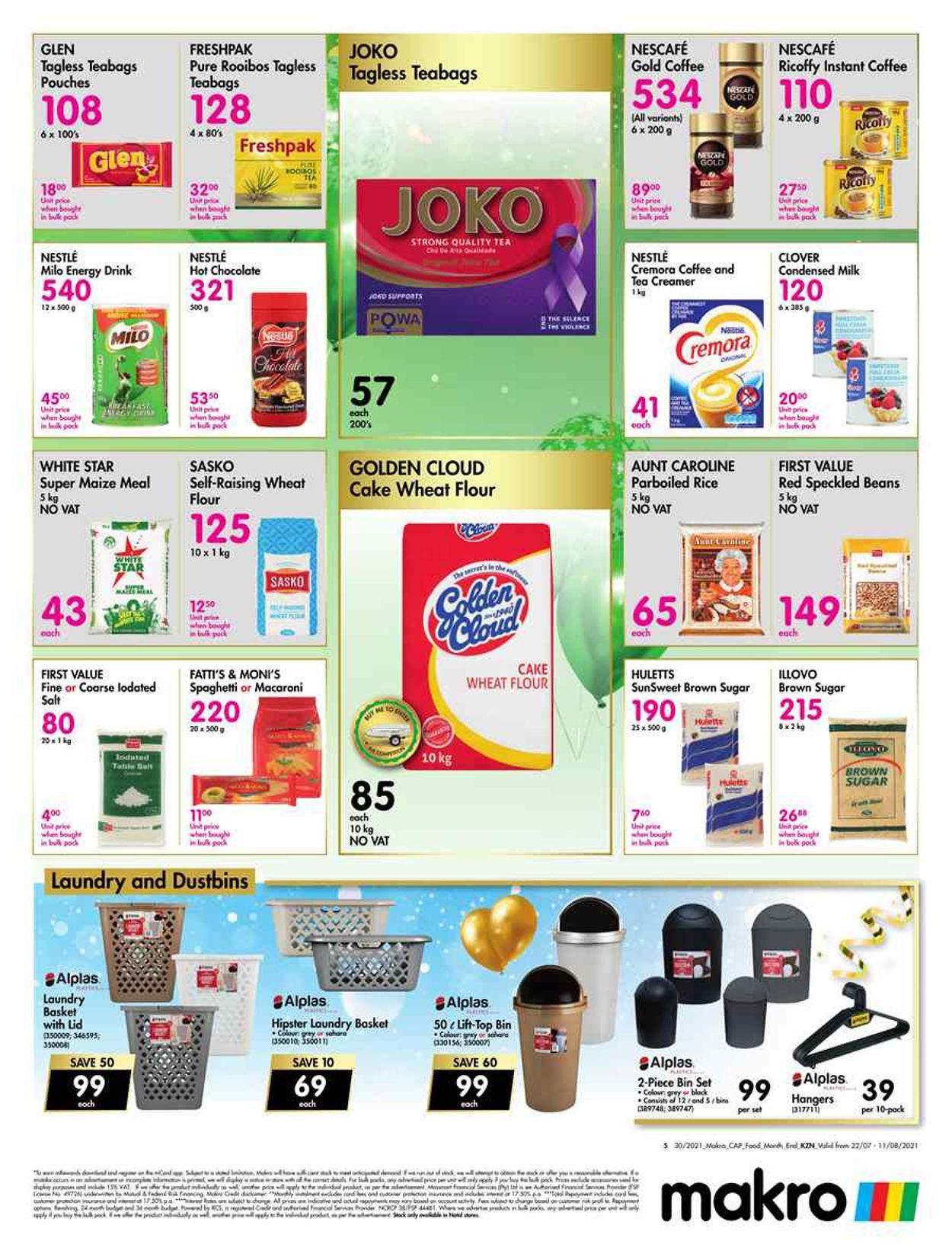 Makro Catalogue - 2021/07/22-2021/08/11 (Page 5)