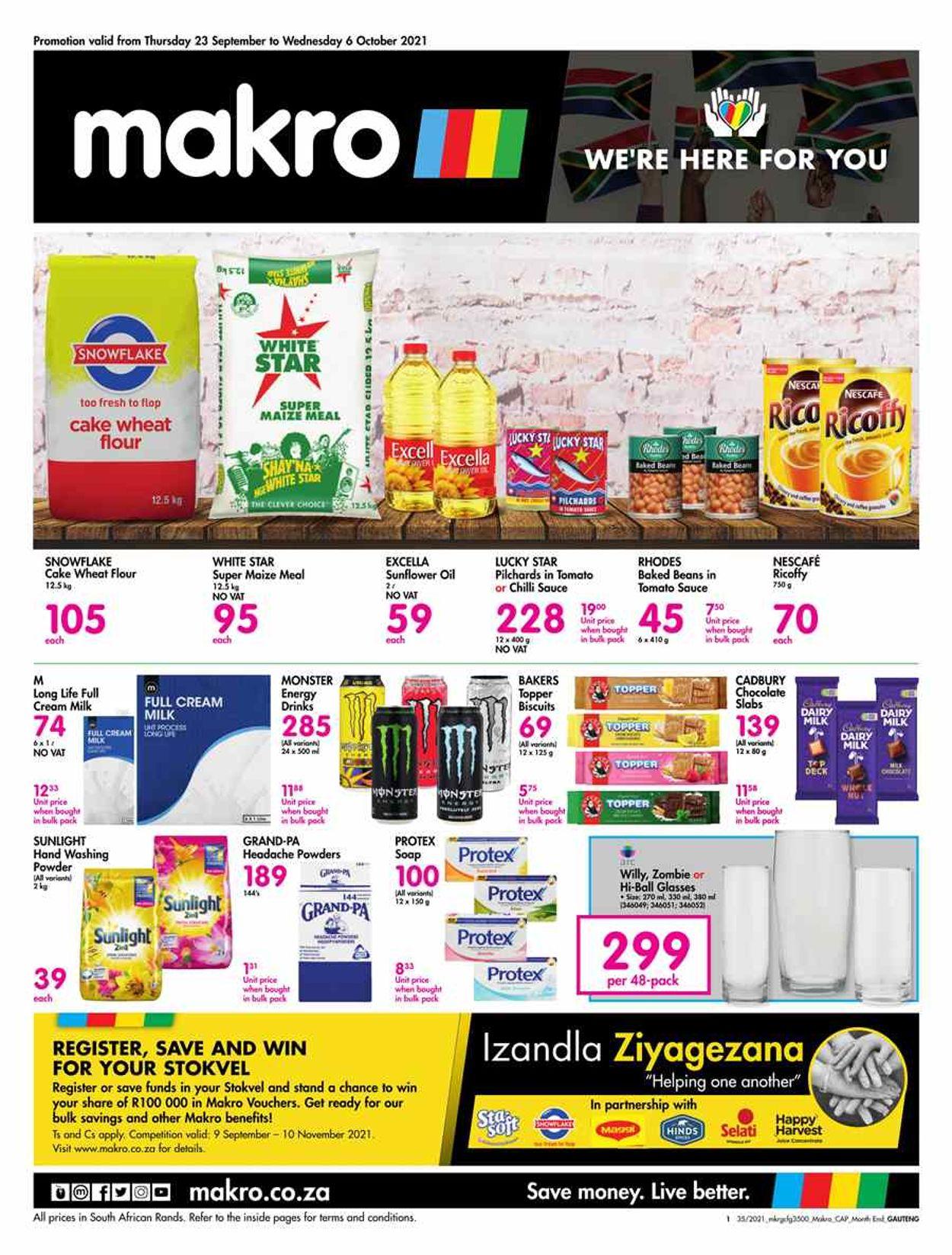 Makro Catalogue - 2021/09/23-2021/10/06