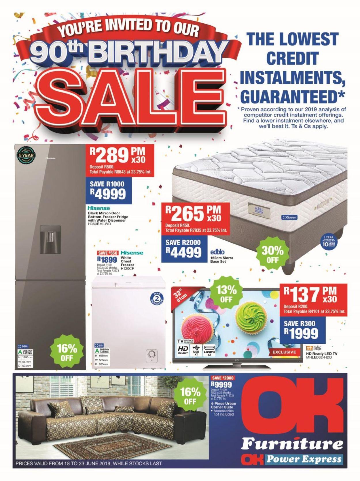 OK Furniture Catalogue - 2019/06/18-2019/06/23