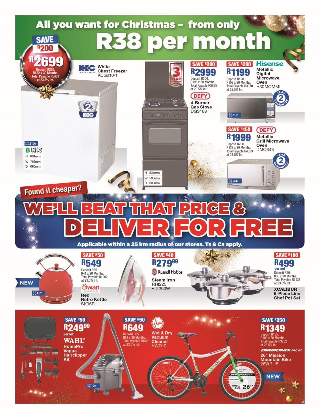 OK Furniture Christmas Catalogue 2019 Catalogue - 2019/11/15-2019/11/24 (Page 3)