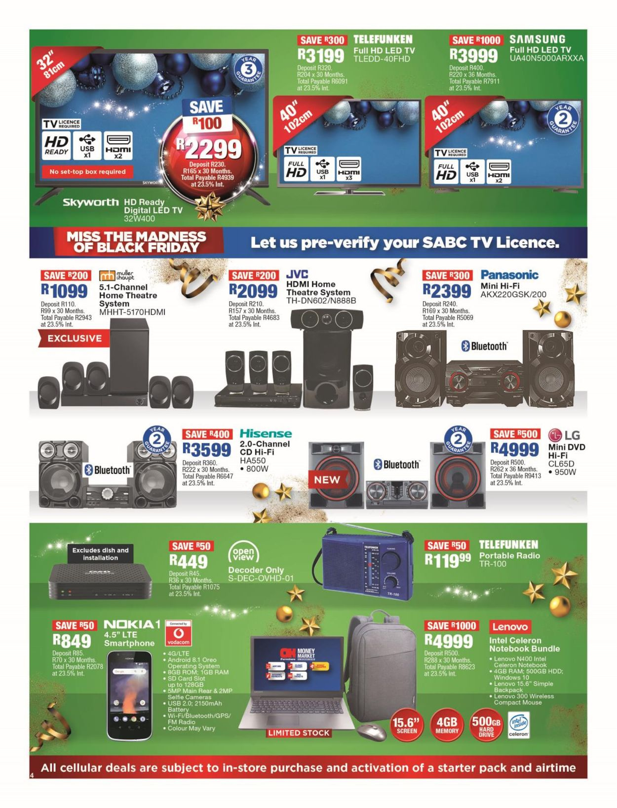 OK Furniture Christmas Catalogue 2019 Catalogue - 2019/11/15-2019/11/24 (Page 4)
