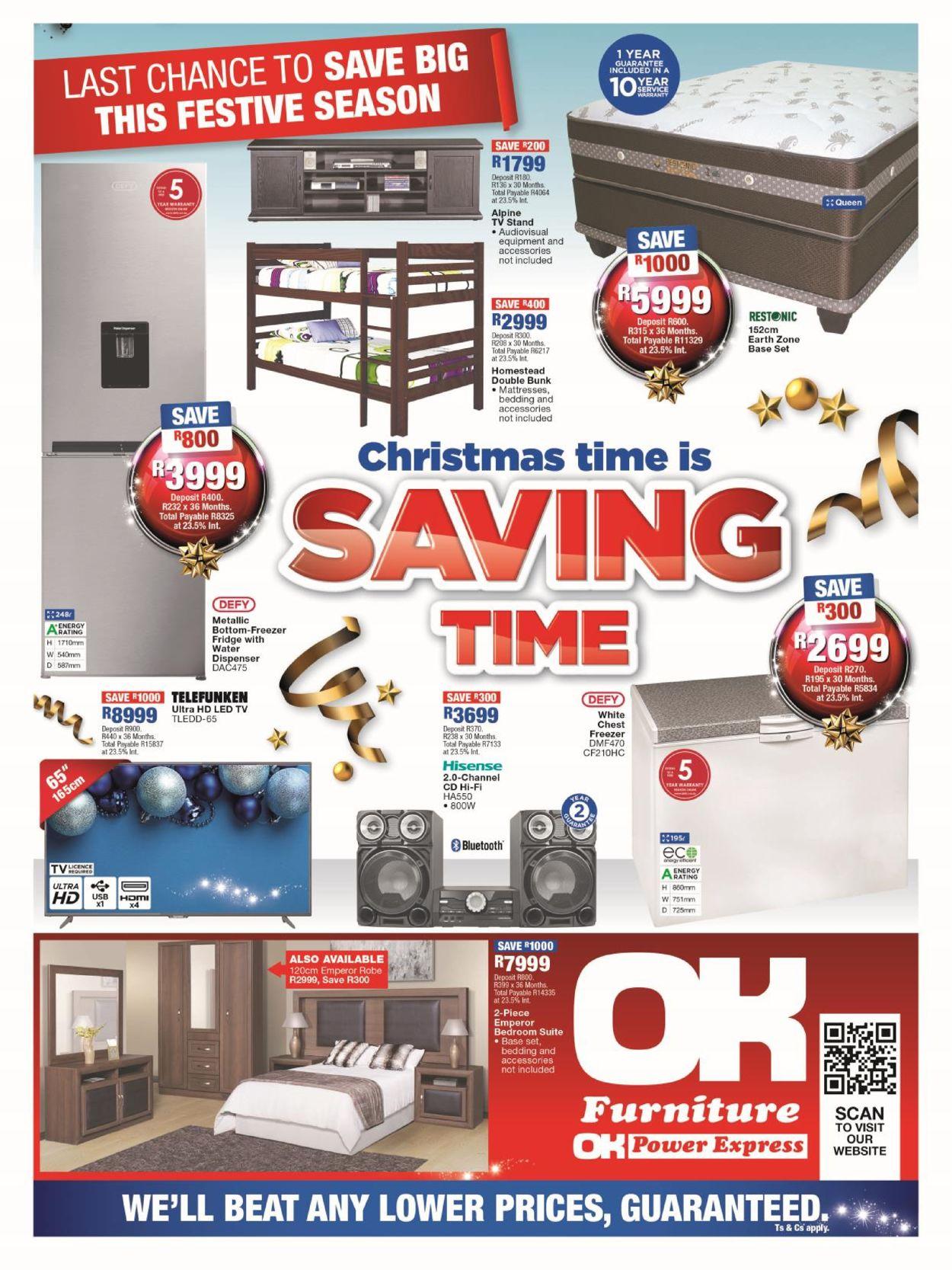 OK Furniture Christmas Catalogue 2019 Catalogue - 2019/12/10-2019/12/22