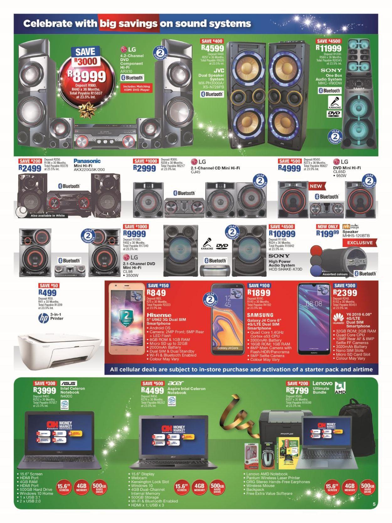 OK Furniture Christmas Catalogue 2019 Catalogue - 2019/12/10-2019/12/22 (Page 5)