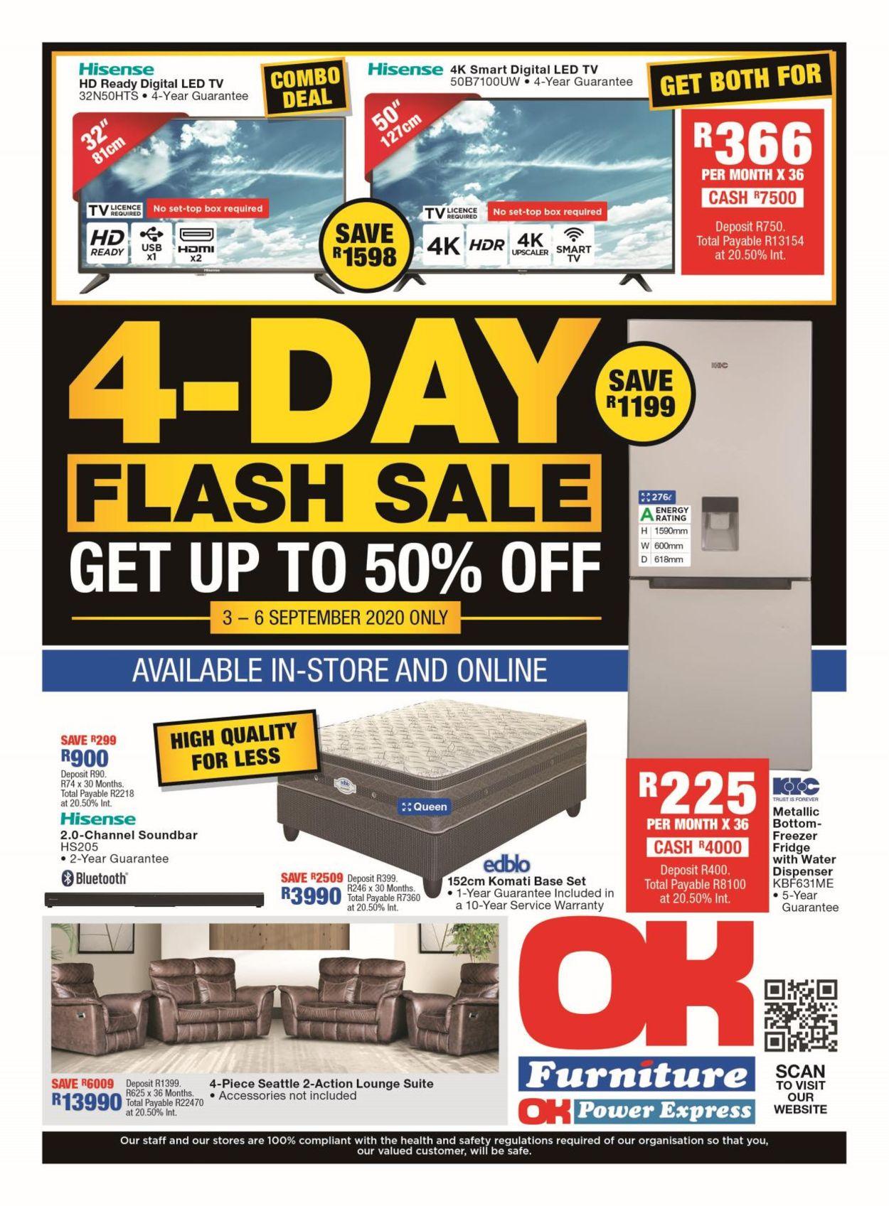 OK Furniture Catalogue - 2020/09/03-2020/09/06