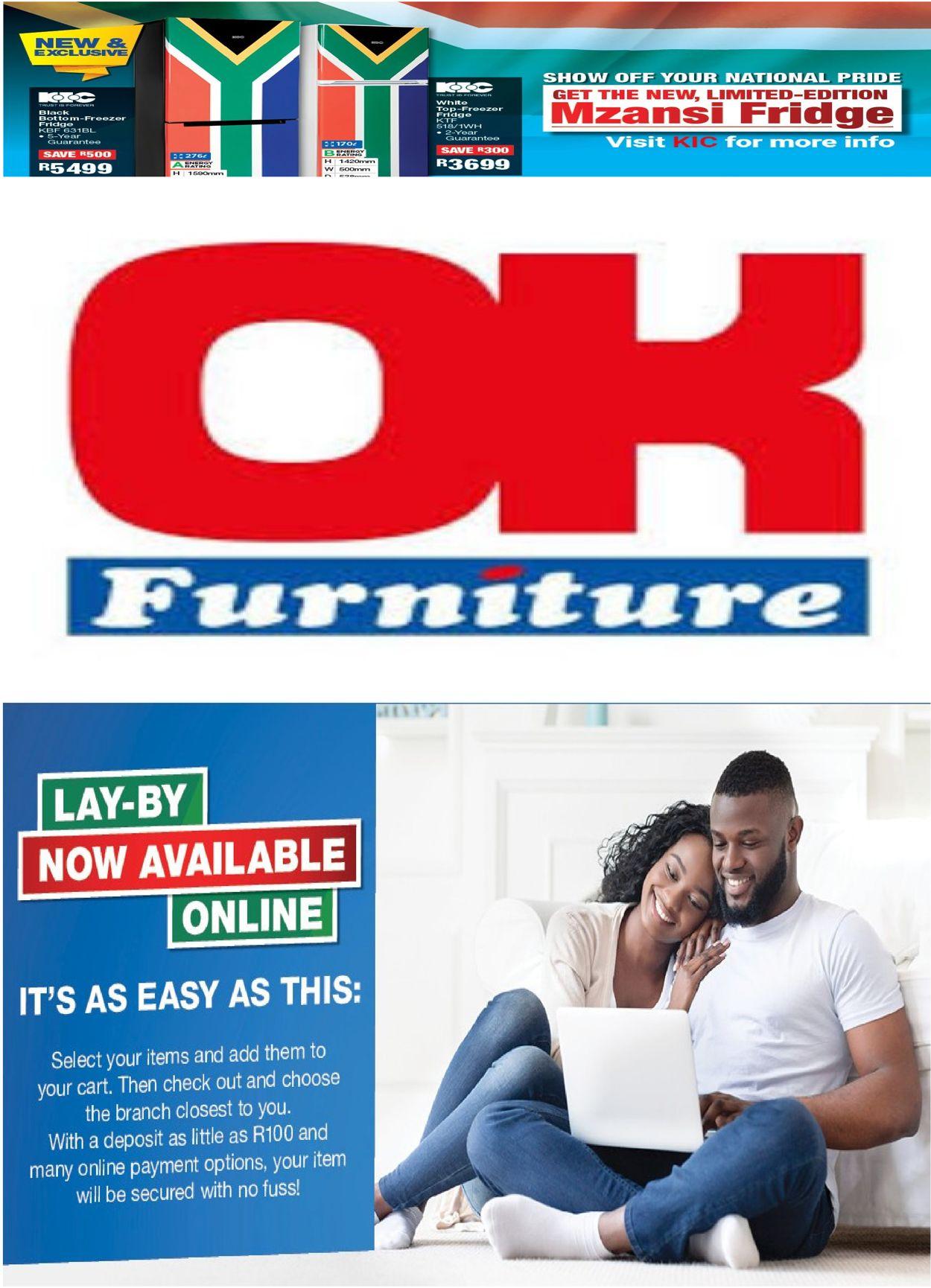 OK Furniture Catalogue - 2020/12/25-2021/01/03