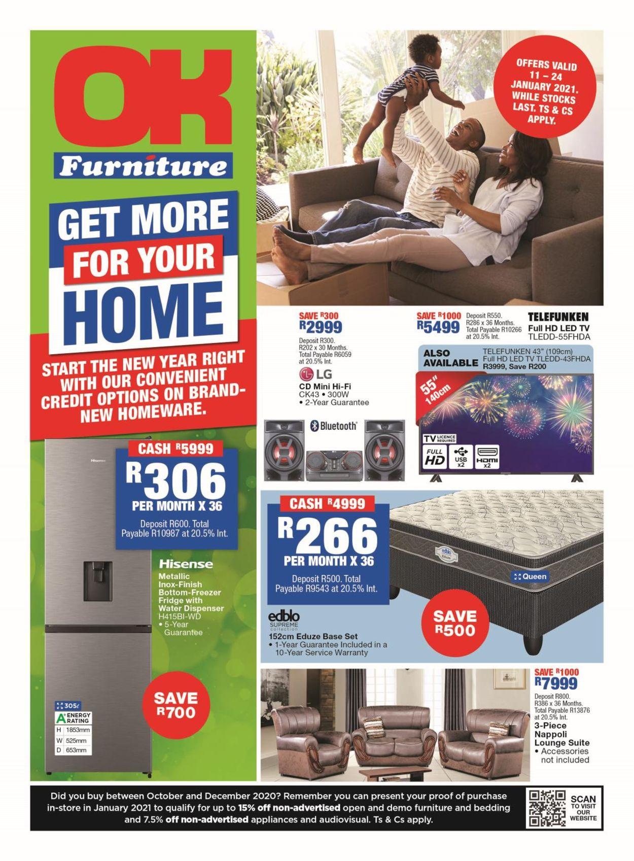 OK Furniture Catalogue - 2021/01/11-2021/01/24