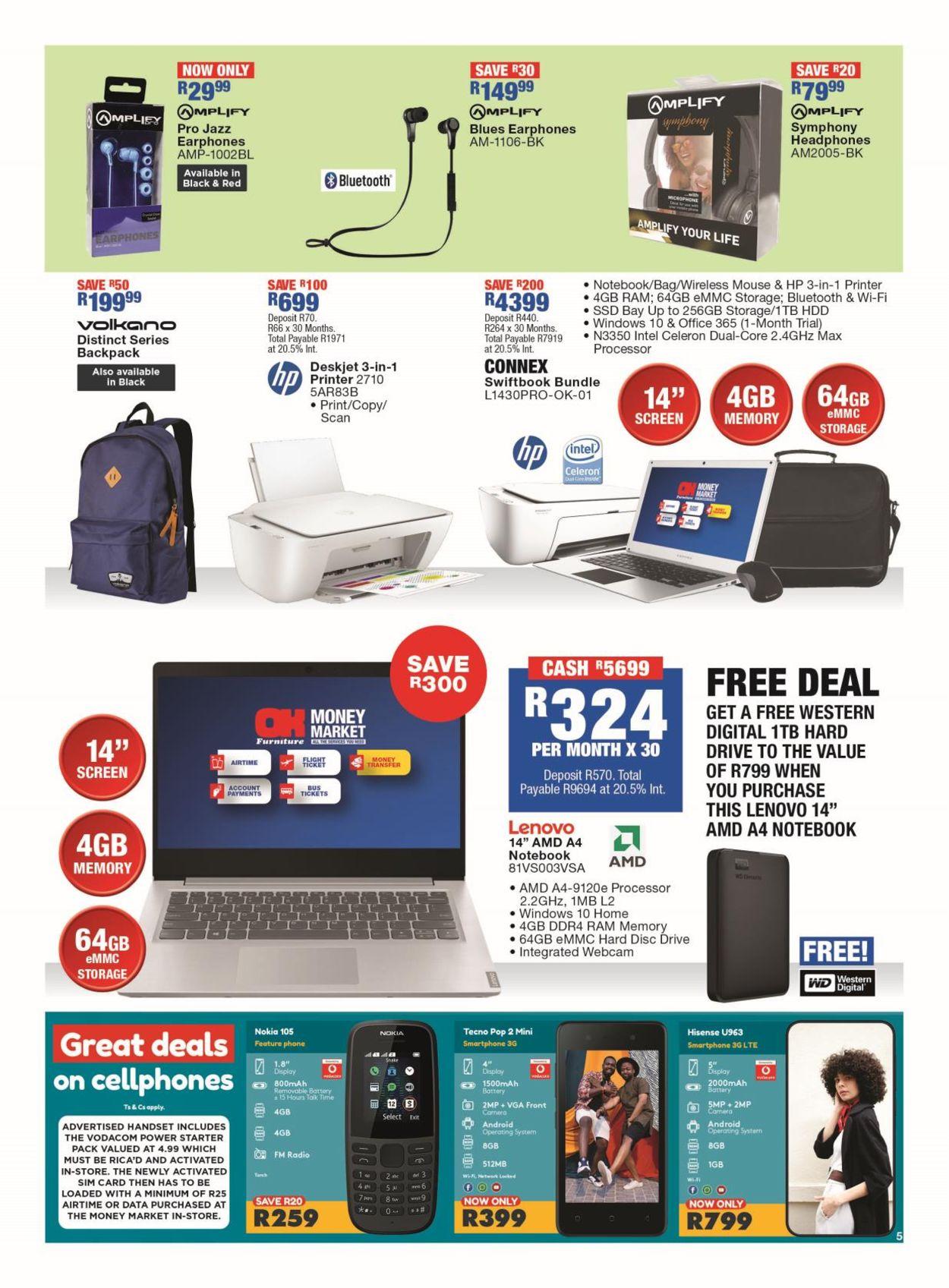 OK Furniture Catalogue - 2021/07/12-2021/07/25 (Page 5)
