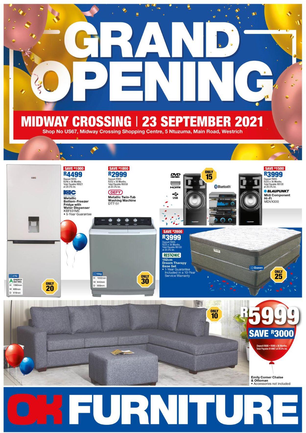 OK Furniture Catalogue - 2021/09/23-2021/10/08