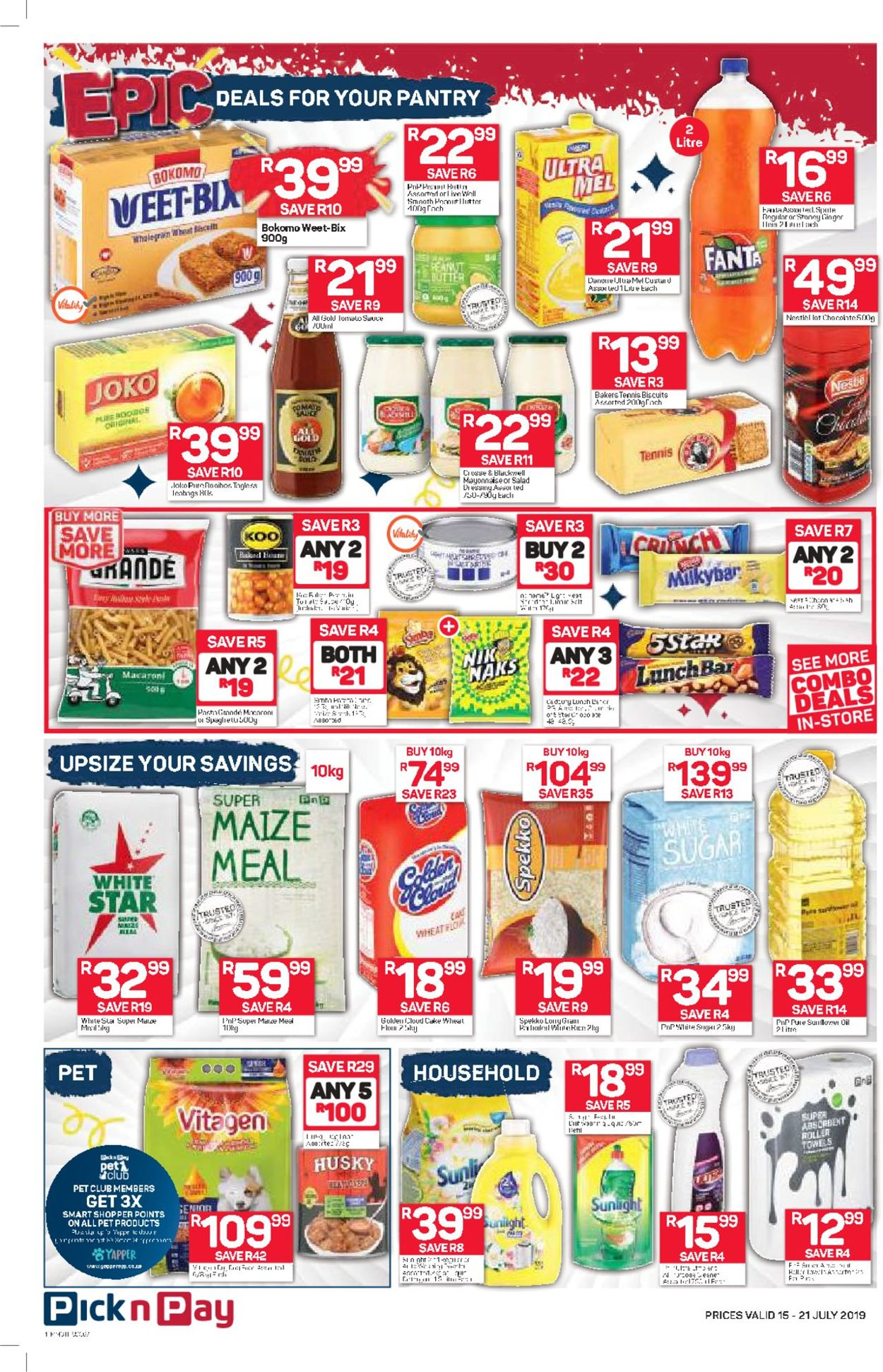 Pick n Pay Catalogue - 2019/07/15-2019/07/21 (Page 4)