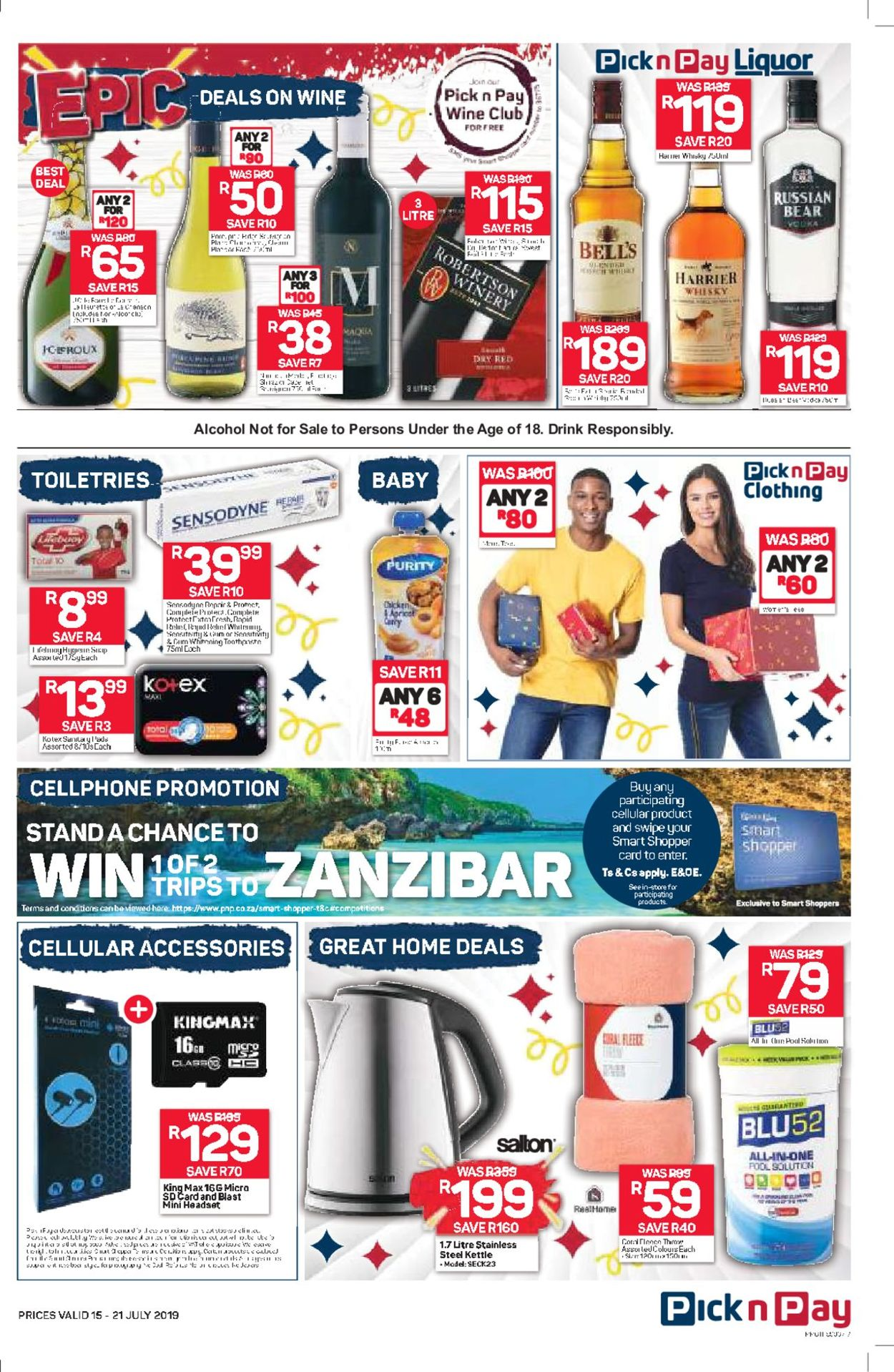 Pick n Pay Catalogue - 2019/07/15-2019/07/21 (Page 7)