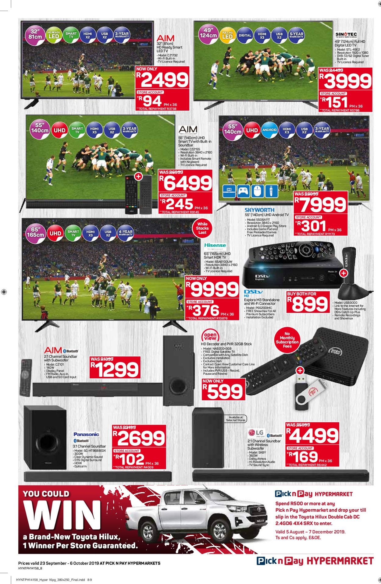 Pick n Pay Catalogue - 2019/09/23-2019/10/06 (Page 8)
