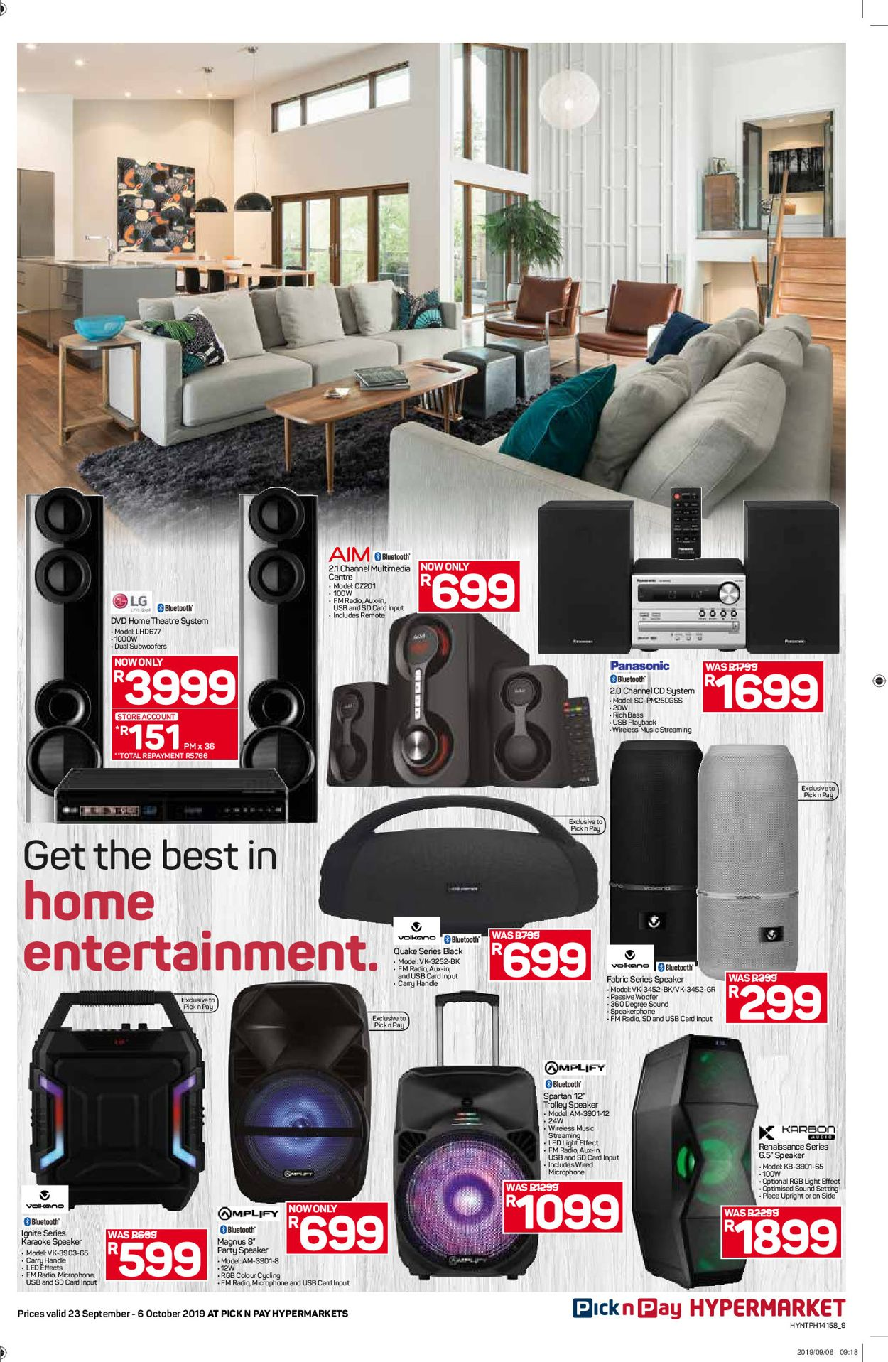 Pick n Pay Catalogue - 2019/09/23-2019/10/06 (Page 9)