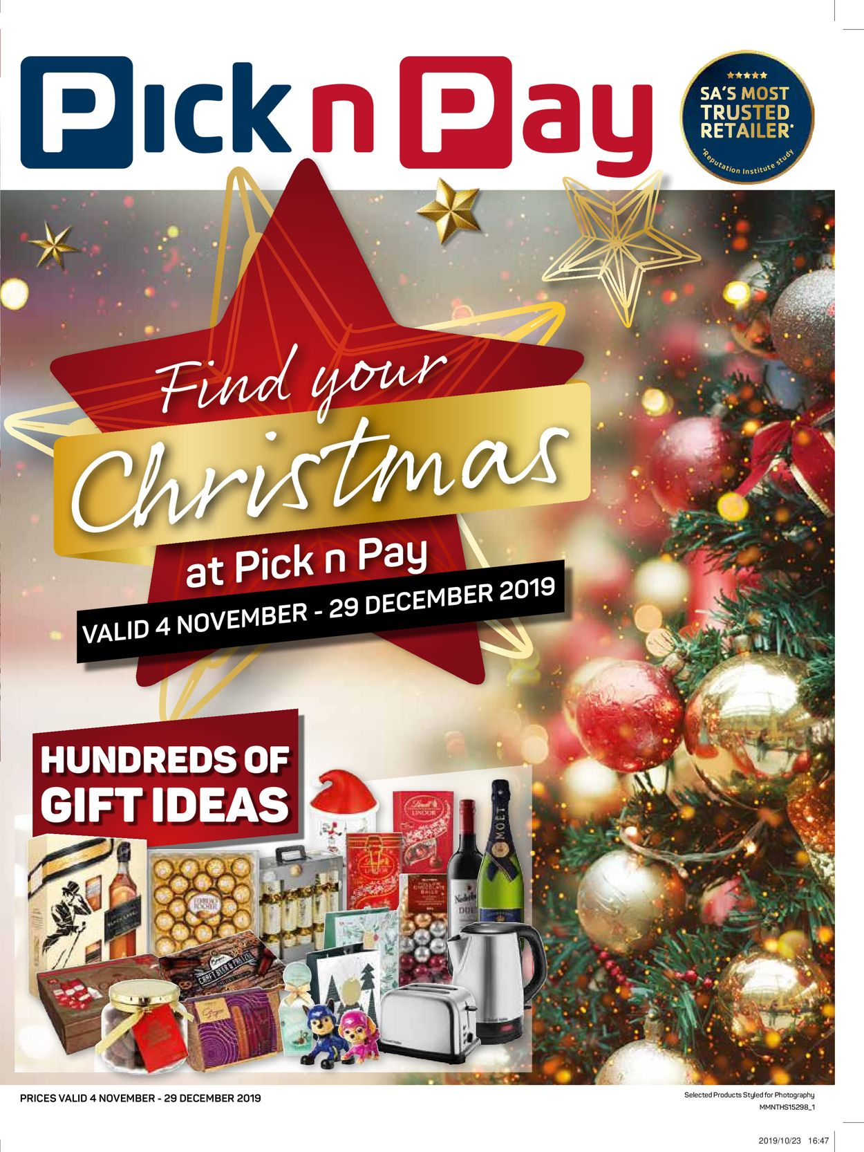 Pick n Pay Catalogue - 2019/11/04-2019/12/29 (Page 2)