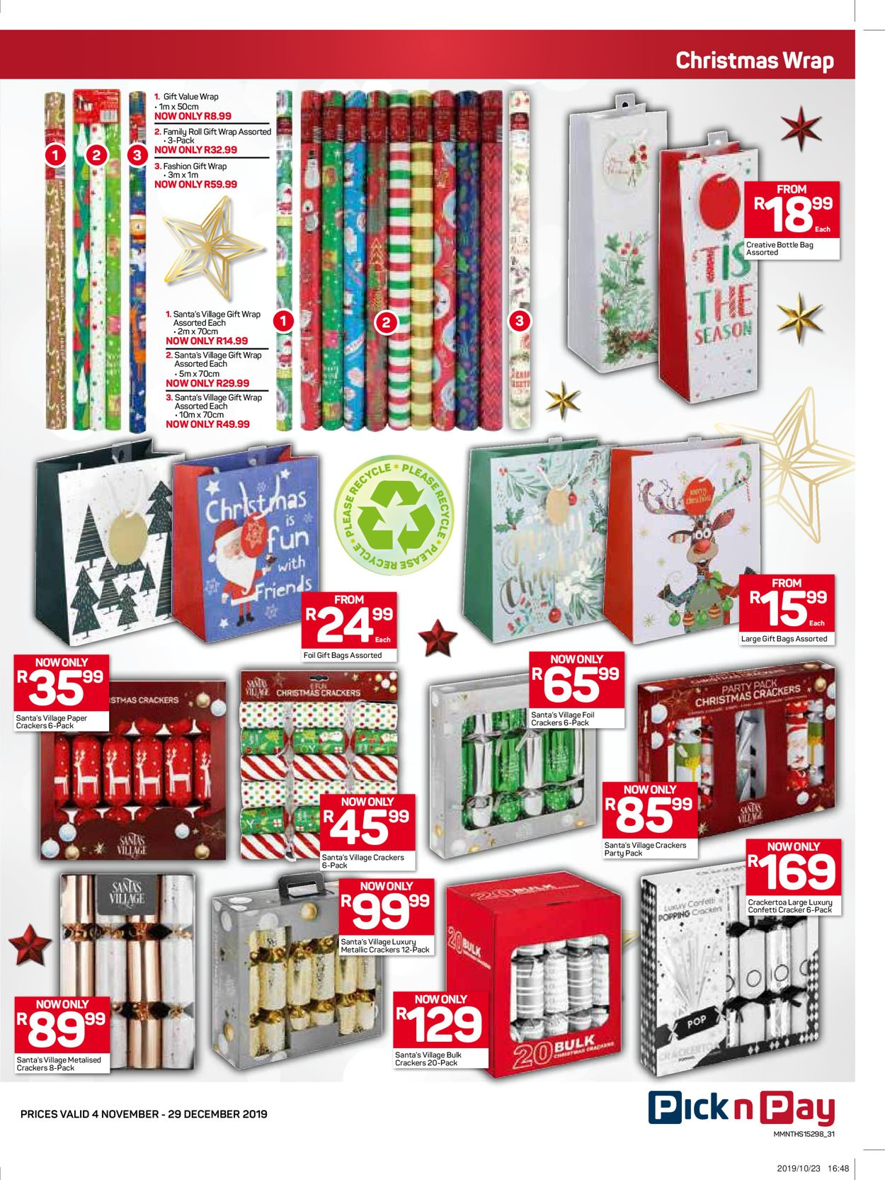 Pick n Pay Catalogue - 2019/11/04-2019/12/29 (Page 32)