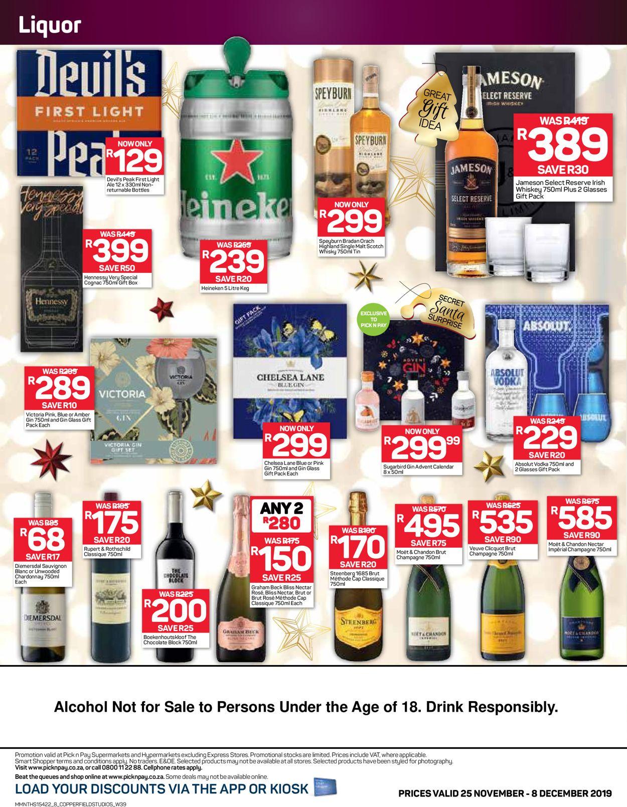 Pick n Pay Christmas Catalogue 2019 Catalogue - 2019/11/25-2019/12/08