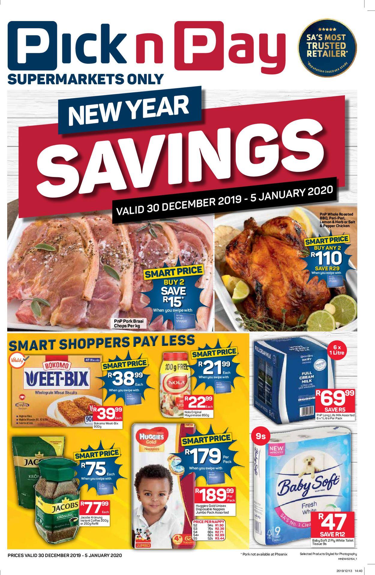 Pick n Pay New Year Catalogue 19/20 Catalogue - 2019/12/30-2020/01/05 (Page 2)