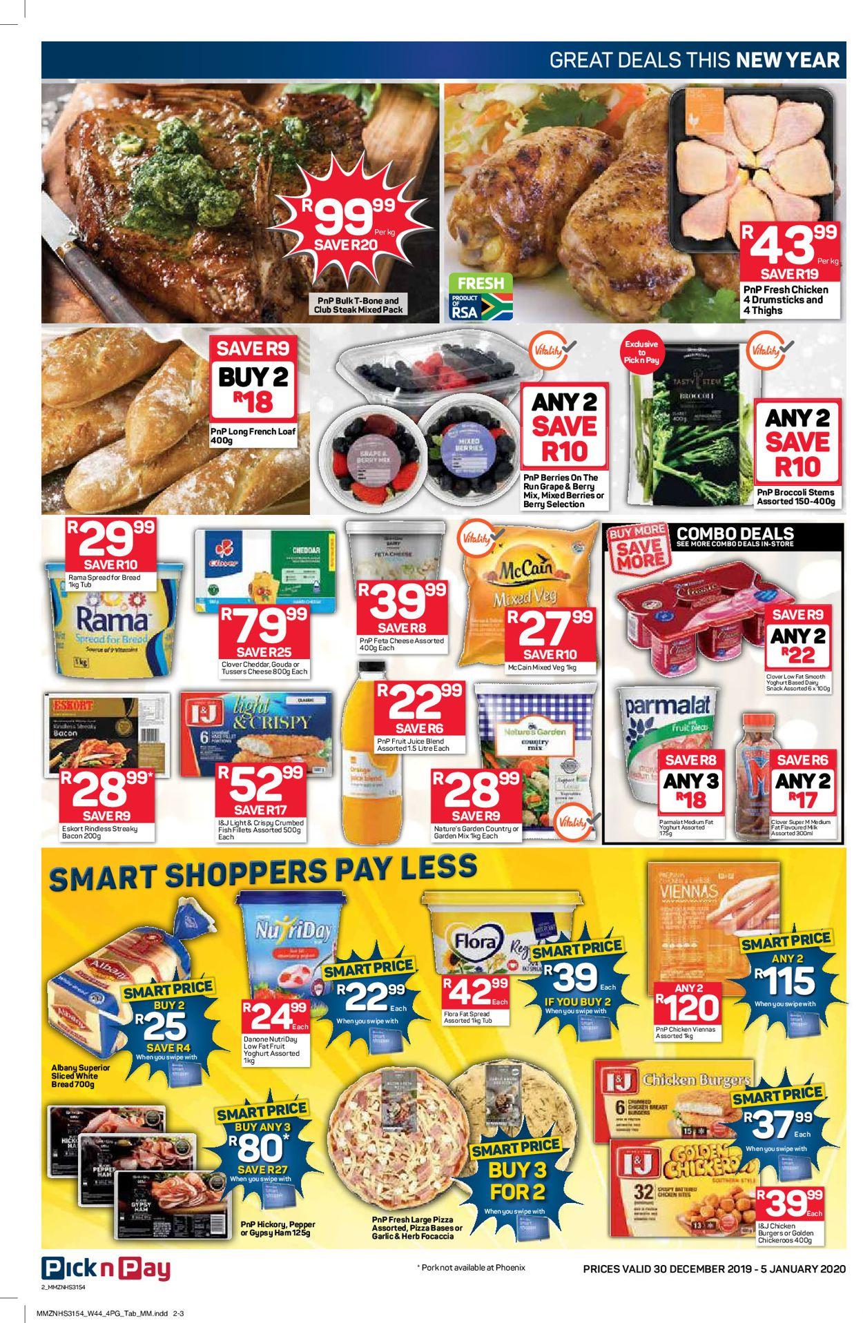 Pick n Pay New Year Catalogue 19/20 Catalogue - 2019/12/30-2020/01/05 (Page 3)