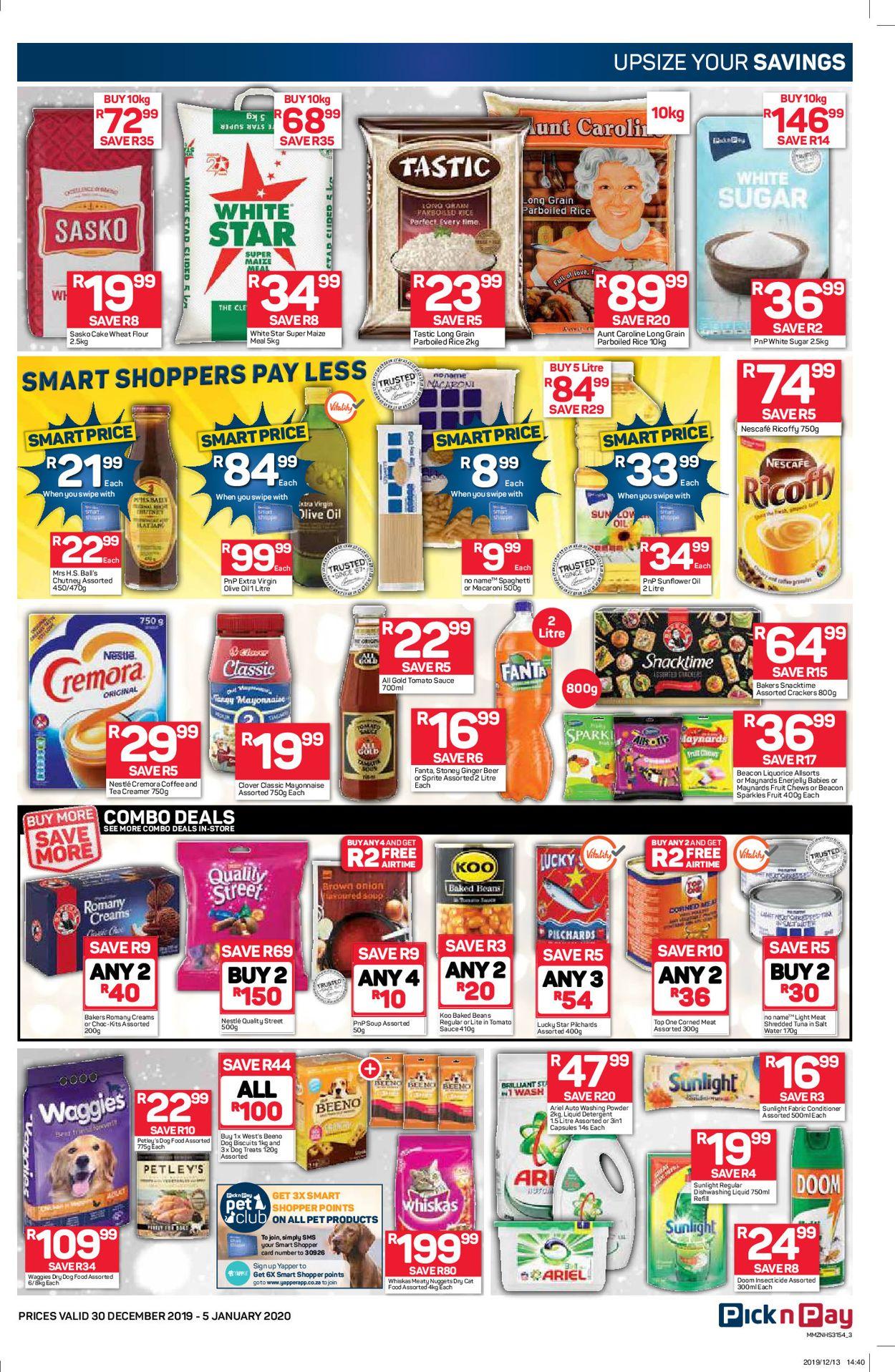 Pick n Pay New Year Catalogue 19/20 Catalogue - 2019/12/30-2020/01/05 (Page 4)