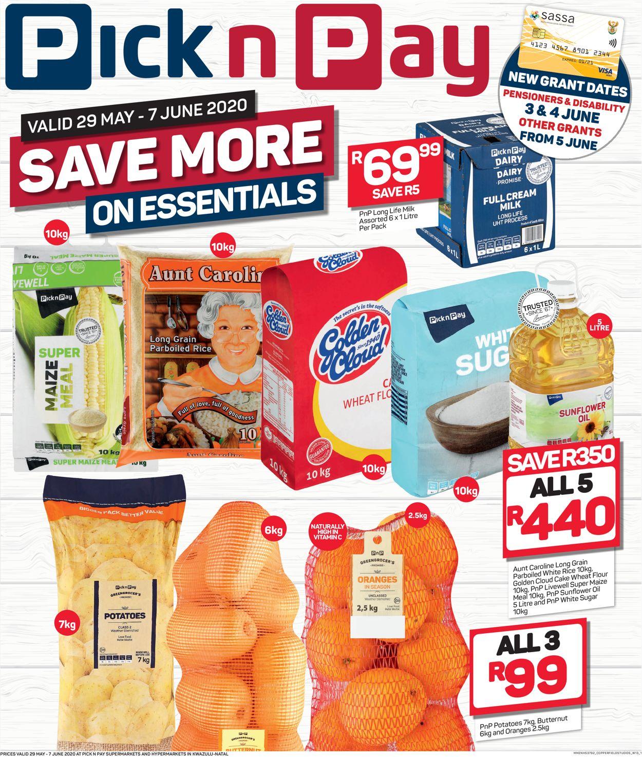 Pick n Pay Catalogue - 2020/05/29-2020/06/07