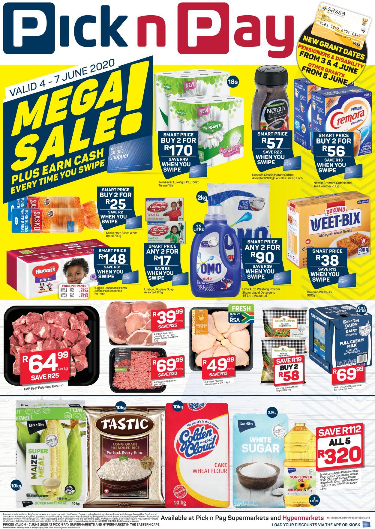 Pick n Pay Catalogue - 2020/06/04-2020/06/07