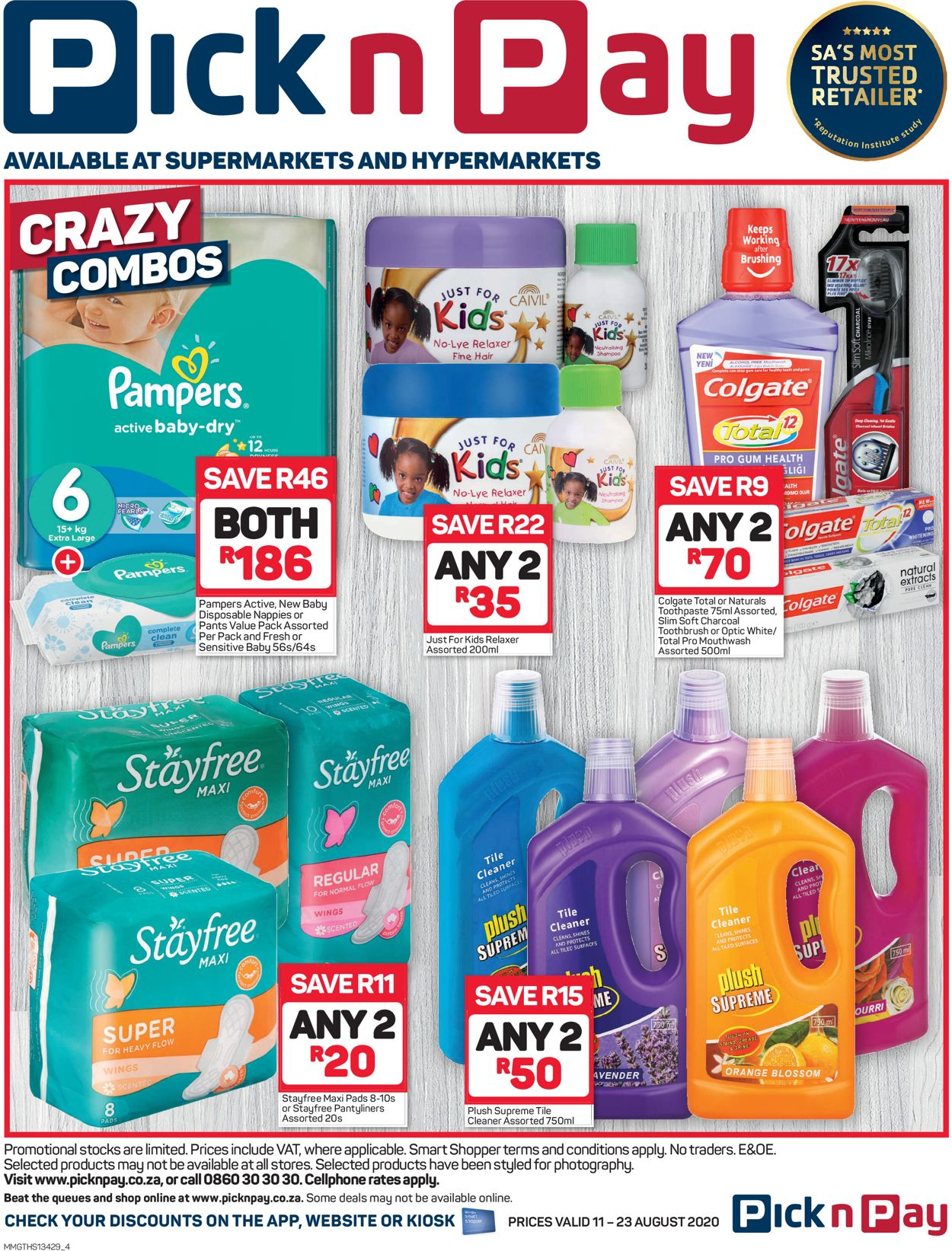 Pick n Pay Catalogue - 2020/08/11-2020/08/23 (Page 4)