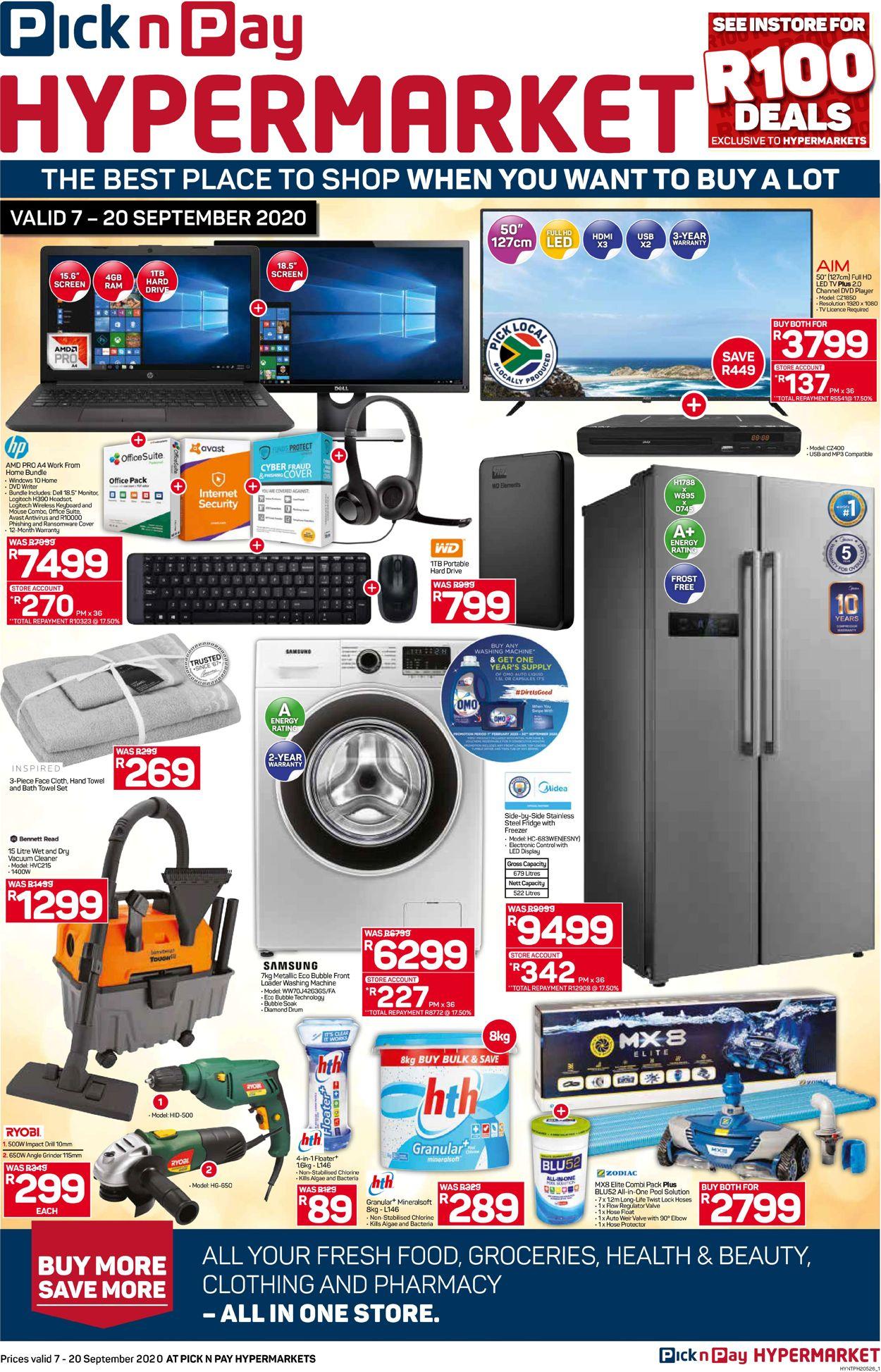 Pick n Pay Catalogue - 2020/09/07-2020/09/20