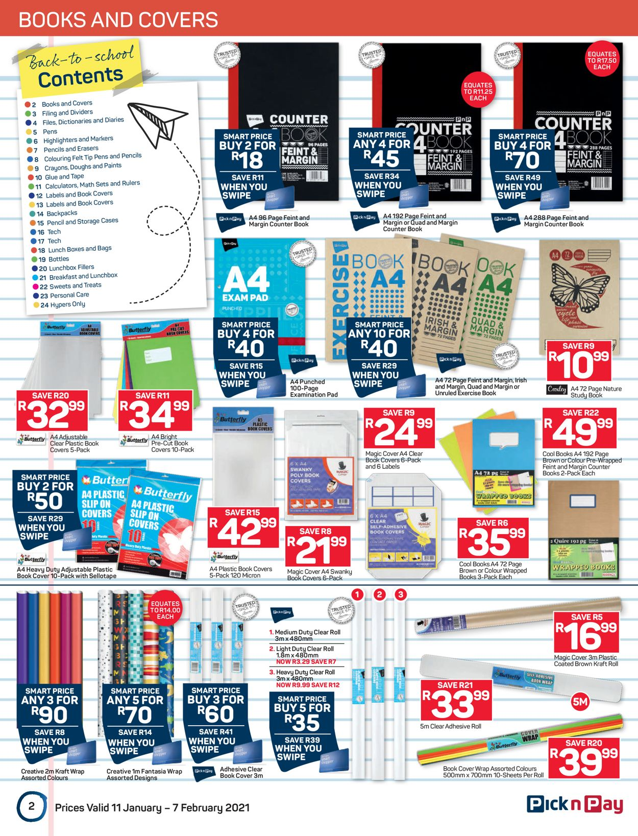 Pick n Pay Back to School 2021 Catalogue - 2021/01/11-2021/02/07 (Page 2)