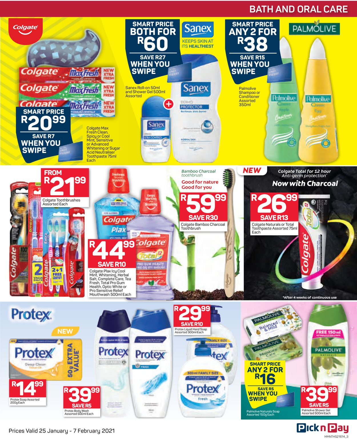 Pick n Pay Savings on Health and Beauty 2021 Catalogue - 2021/01/25-2021/02/07 (Page 3)