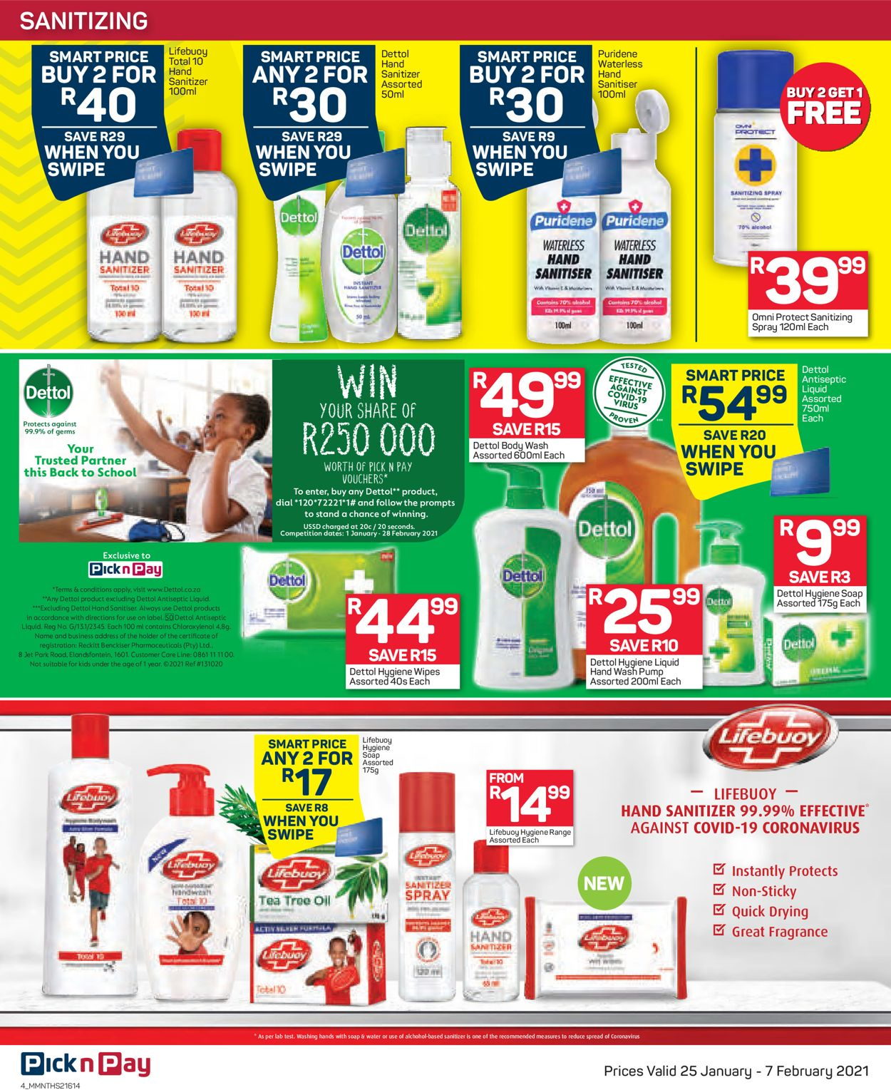 Pick n Pay Savings on Health and Beauty 2021 Catalogue - 2021/01/25-2021/02/07 (Page 4)