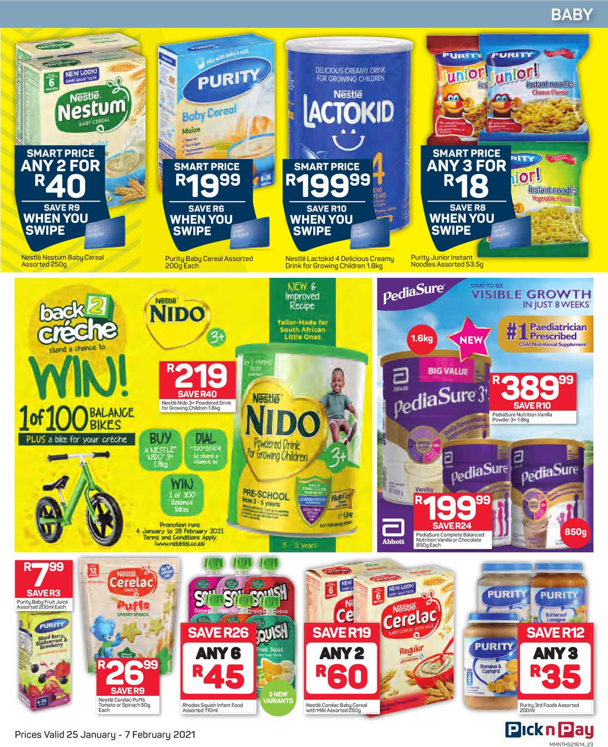 Pick n Pay Savings on Health and Beauty 2021 Catalogue - 2021/01/25-2021/02/07 (Page 24)