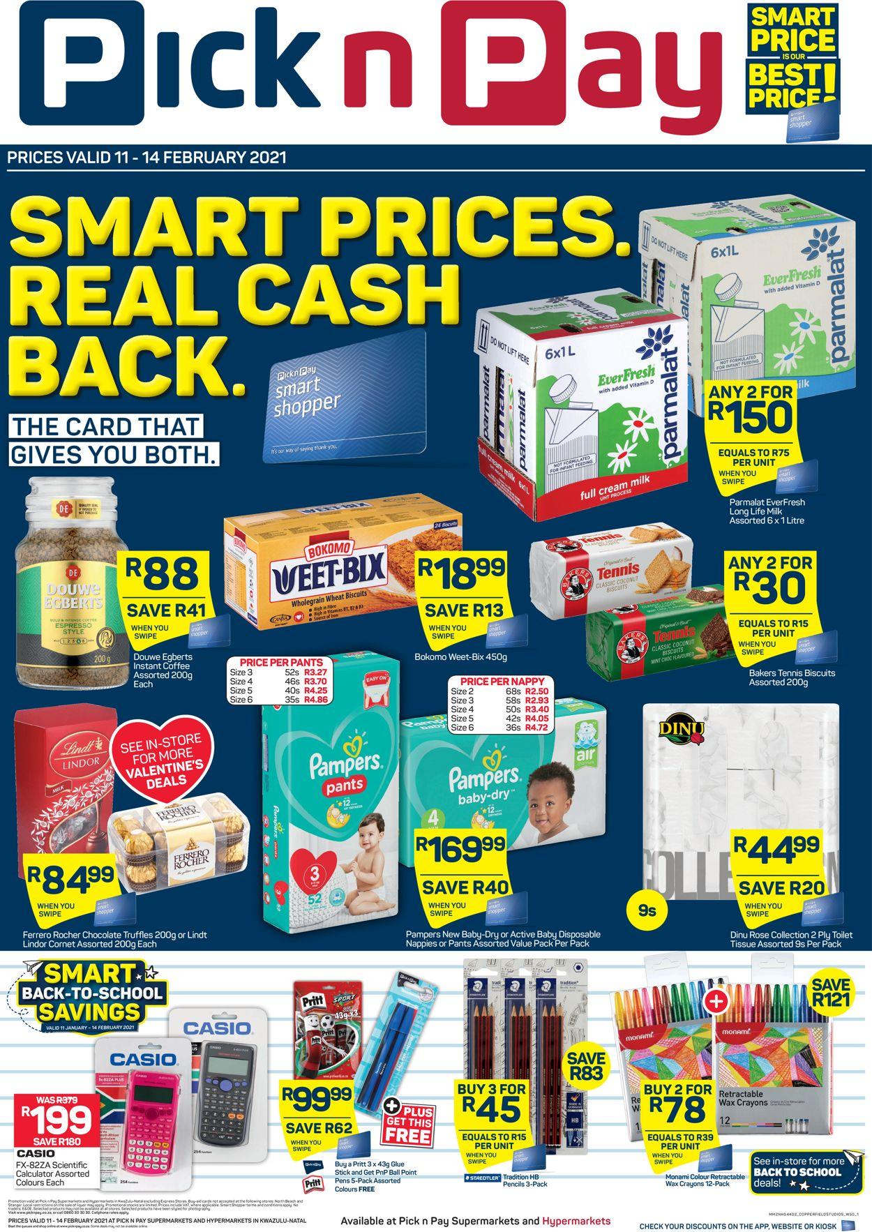 Pick n Pay Catalogue - 2021/02/11-2021/02/14