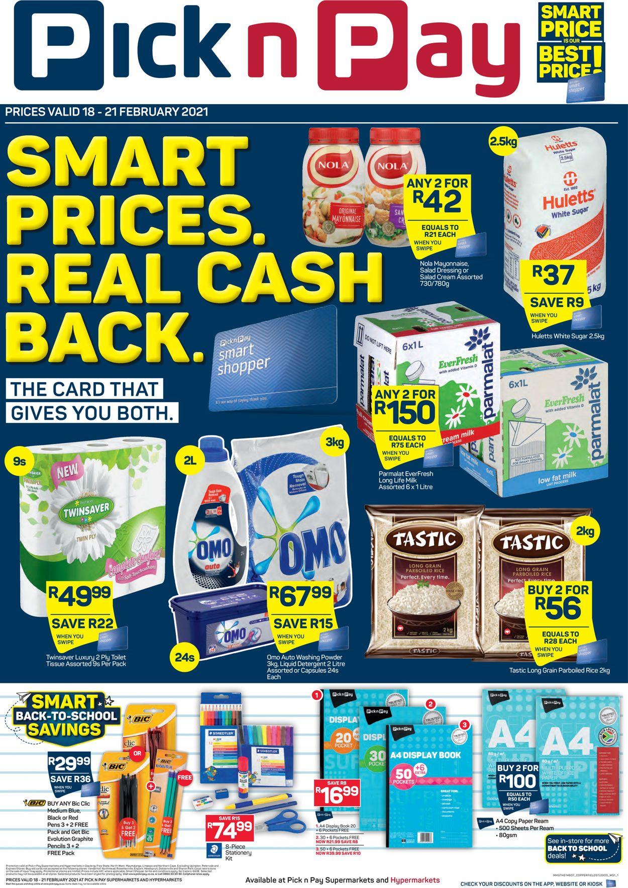 Pick n Pay Catalogue - 2021/02/18-2021/02/21