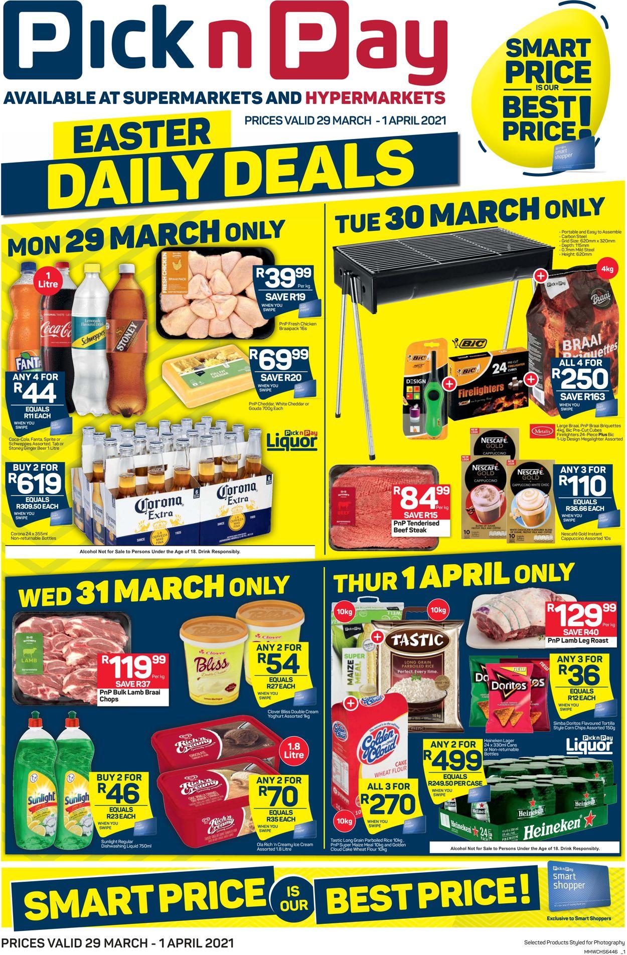 Pick n Pay Catalogue - 2021/03/29-2021/04/01
