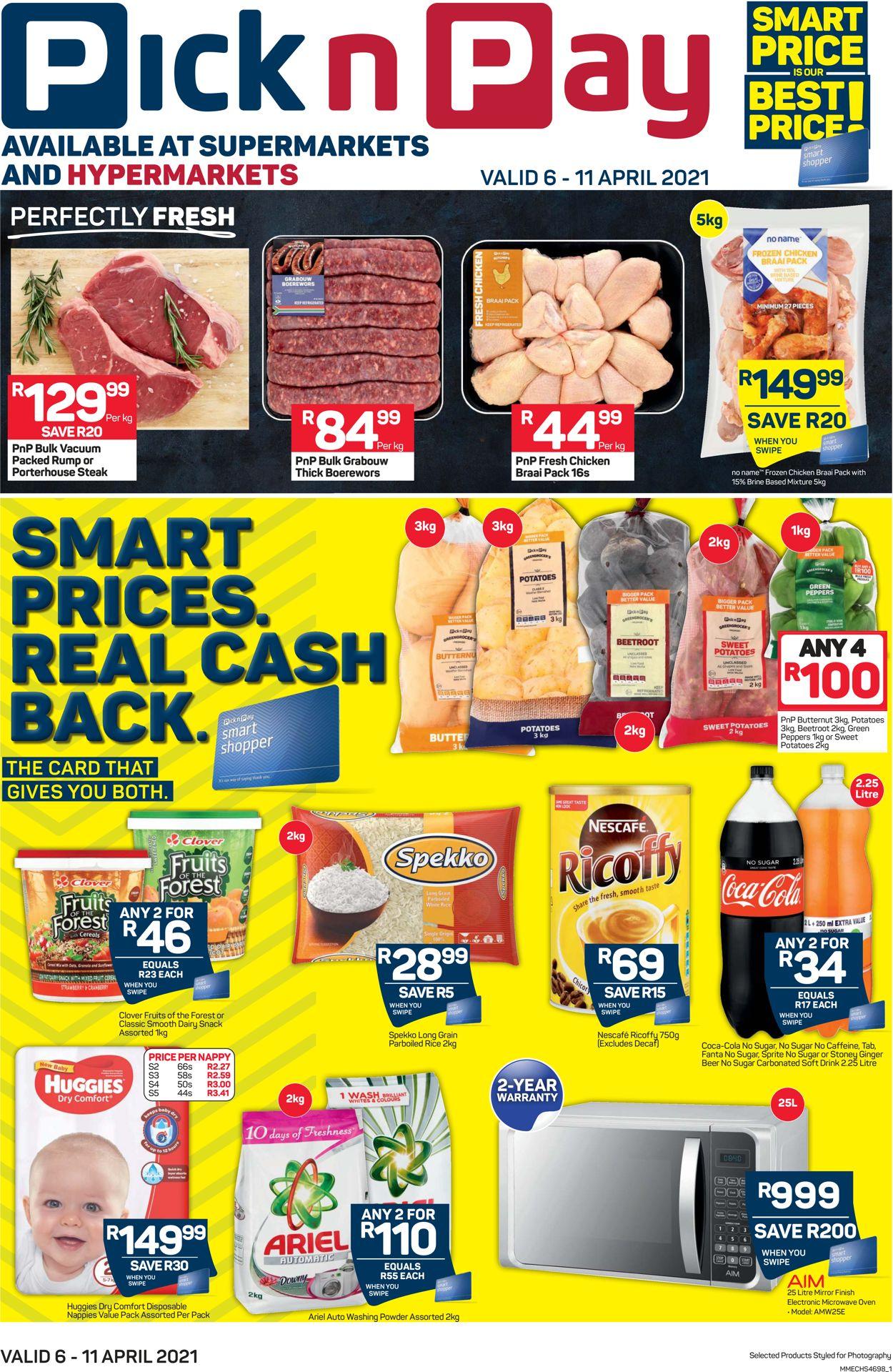 Pick n Pay Catalogue - 2021/04/06-2021/04/11