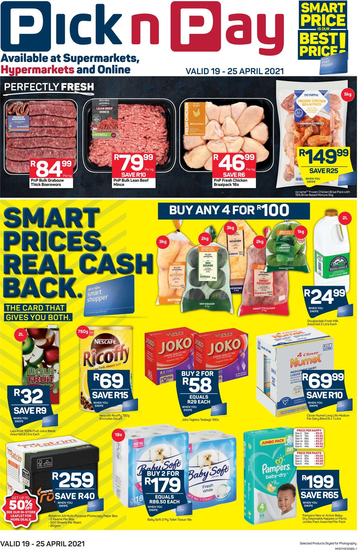 Pick n Pay Catalogue - 2021/04/19-2021/04/25