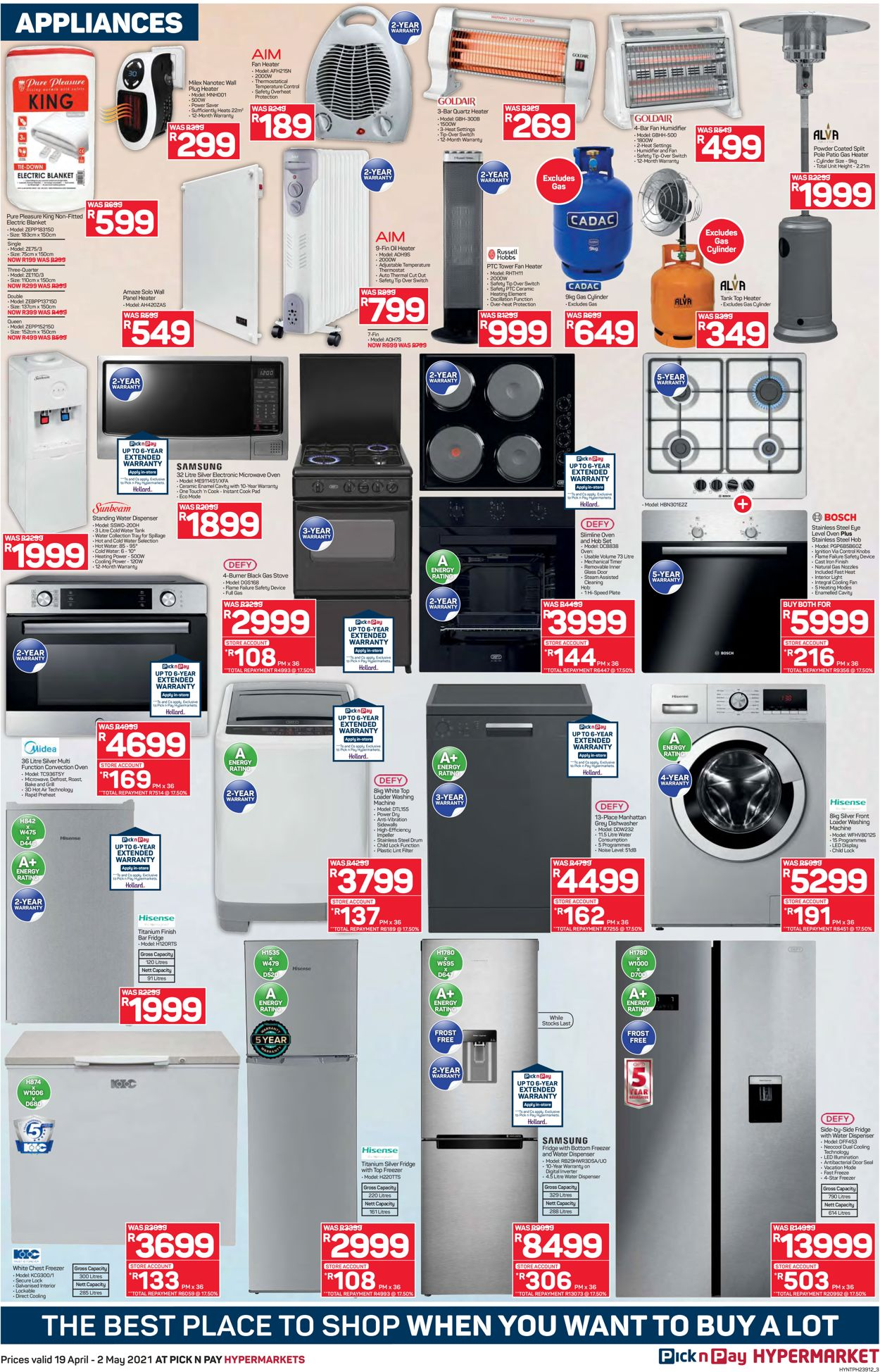 Pick n Pay Catalogue - 2021/03/01-2021/08/01 (Page 3)