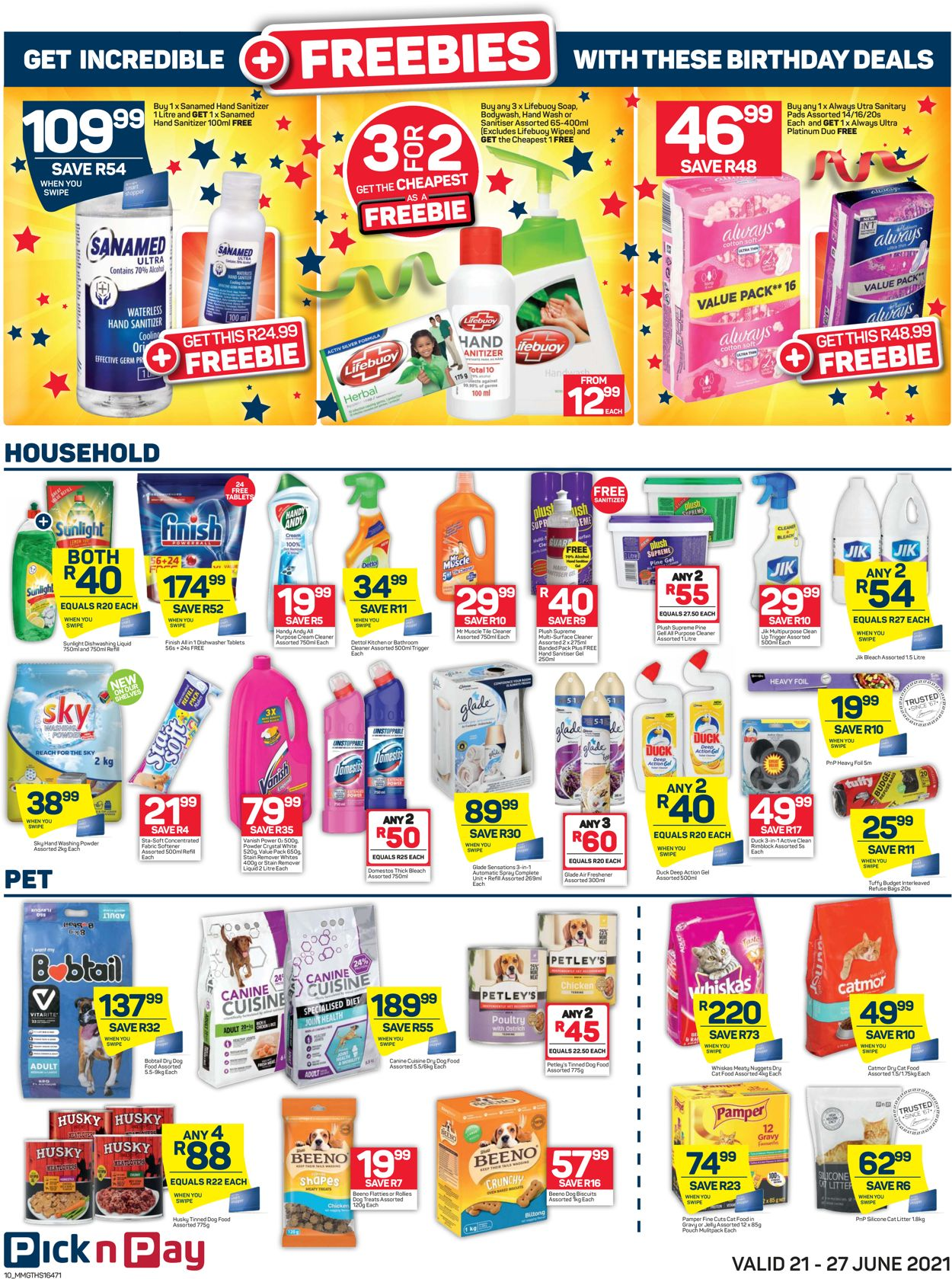 Pick n Pay Catalogue - 2021/06/21-2021/06/27 (Page 10)