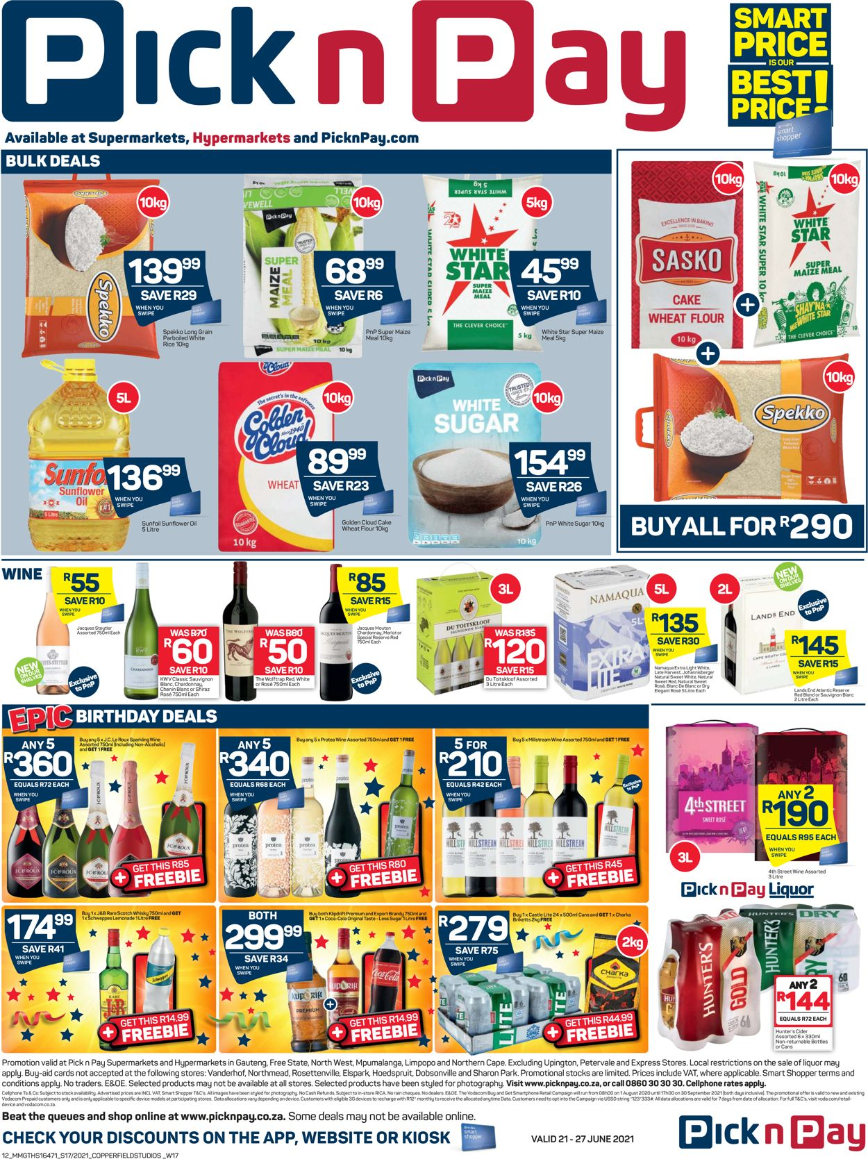 Pick n Pay Catalogue - 2021/06/21-2021/06/27 (Page 12)