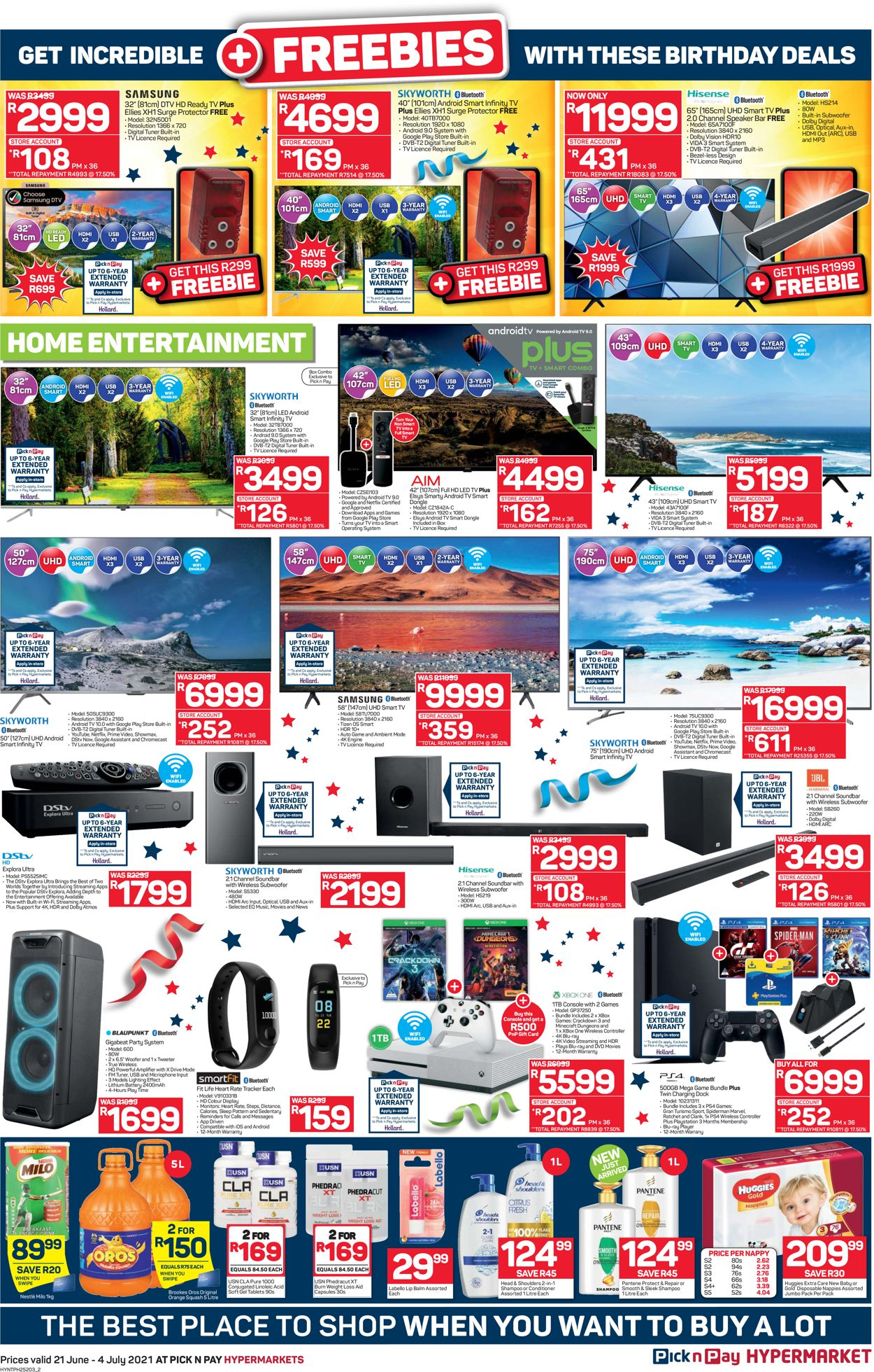 Pick n Pay Catalogue - 2021/06/21-2021/07/04 (Page 2)