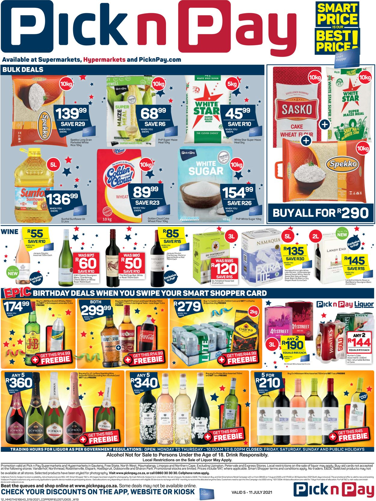Pick n Pay Catalogue - 2021/07/05-2021/07/17 (Page 12)